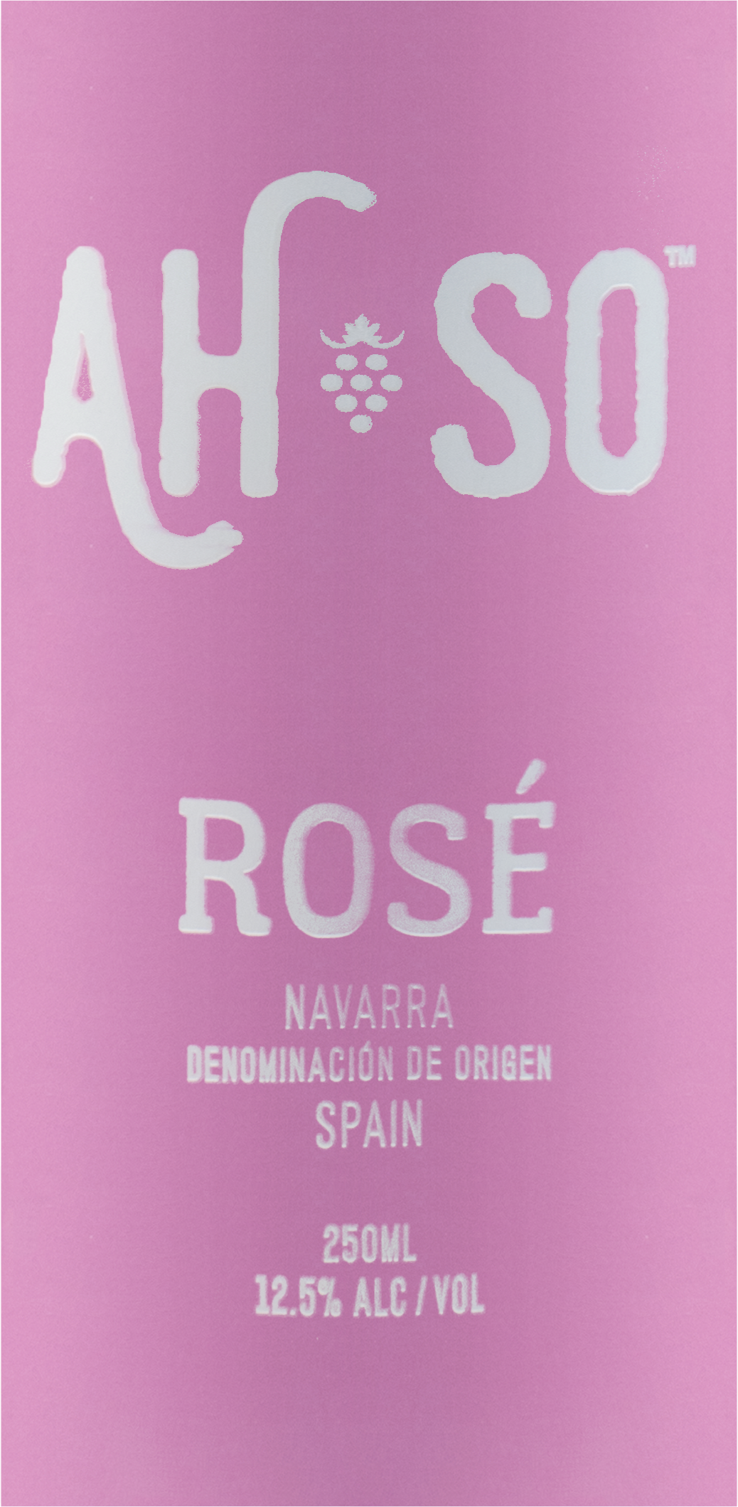 Ah So Garnacha Rose(Can) 250 M 2018