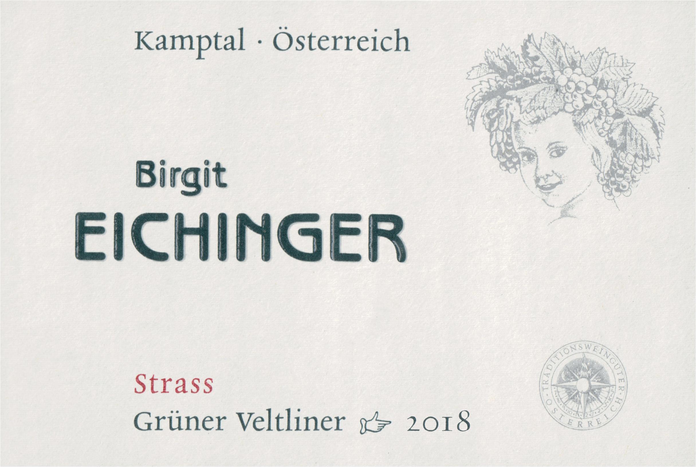 Birgit Eichinger Gruner Veltliner Strass 2018