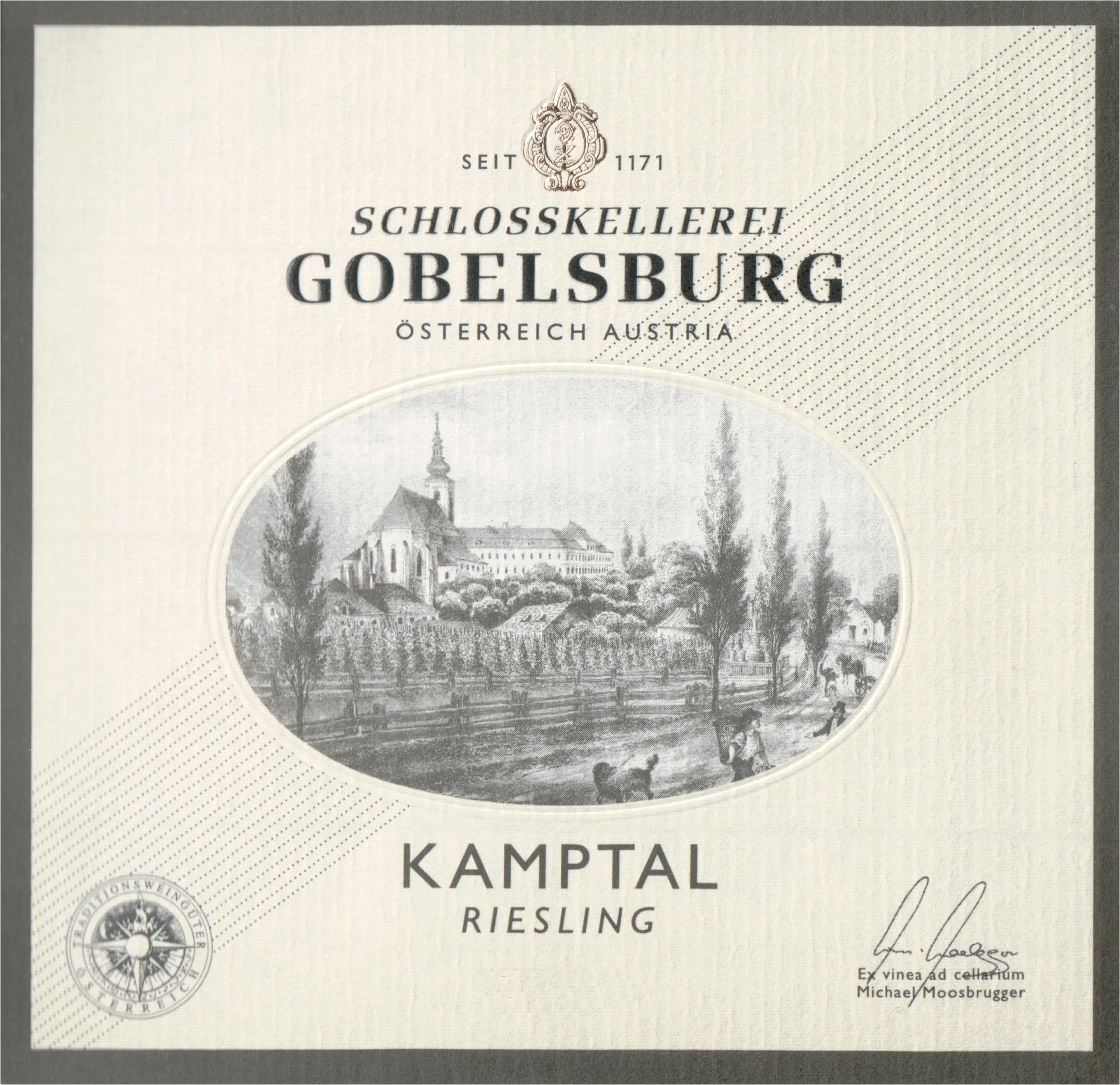 Gobelsburger Riesling Schlosskellerei 2018