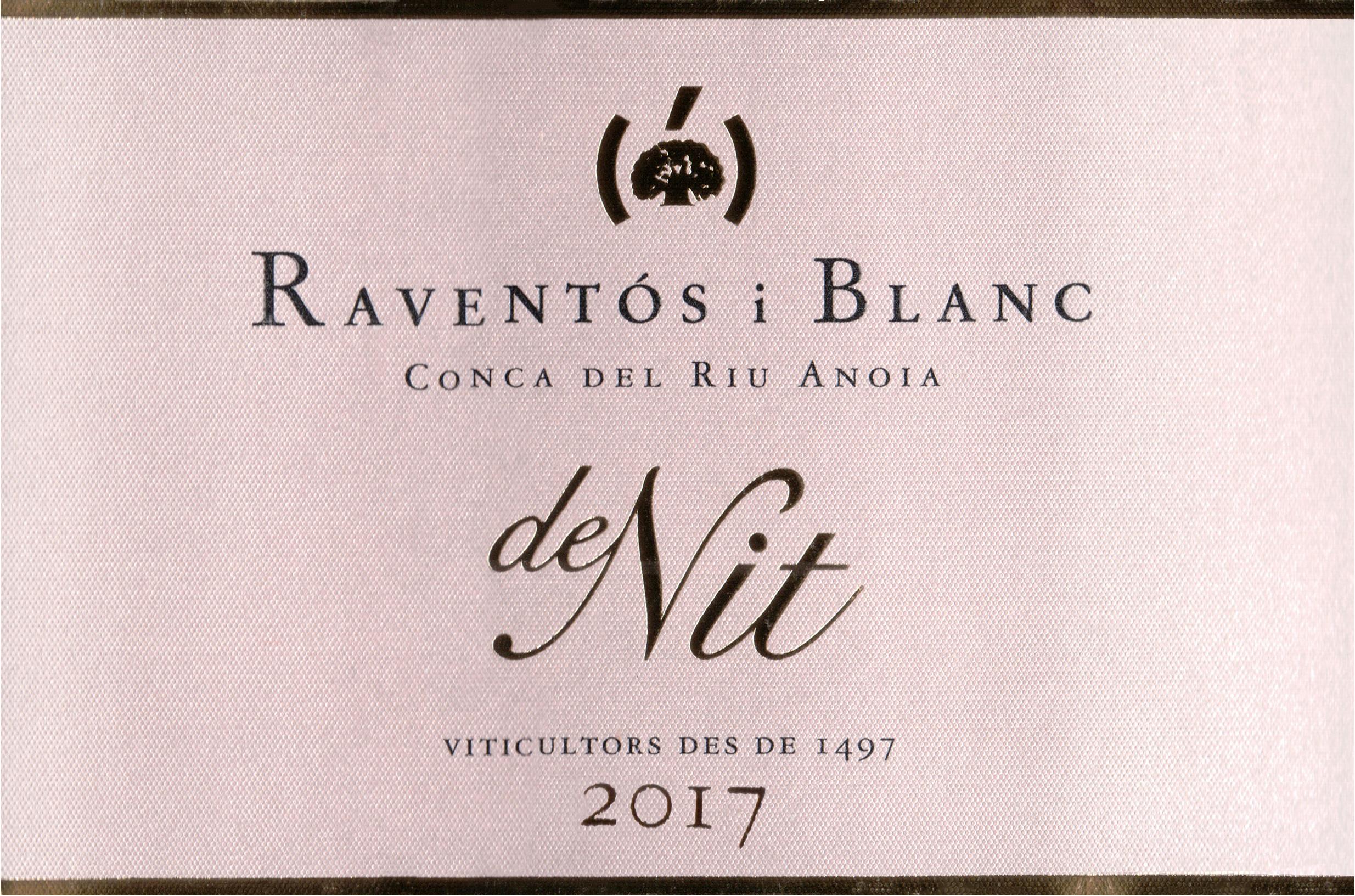 Raventos I Blanc De Nit Rose 2017