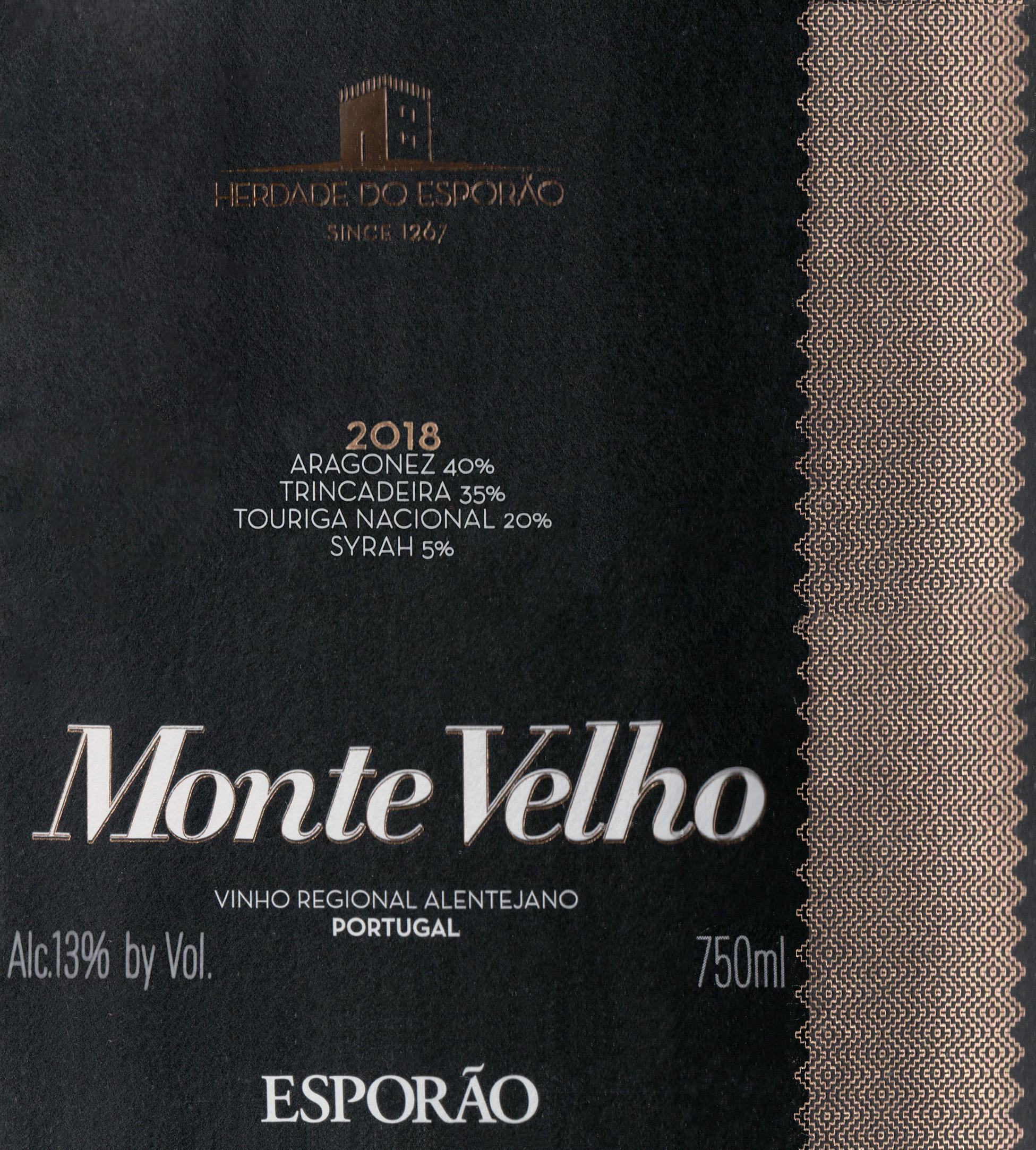 Esporao Monte Velho Red 2018