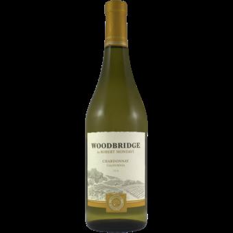 Bottle shot for 2018 Woodbridge Chardonnay