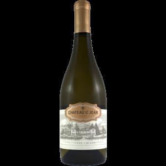 Bottle shot for 2017 Chateau St Jean North Coast Chardonnay