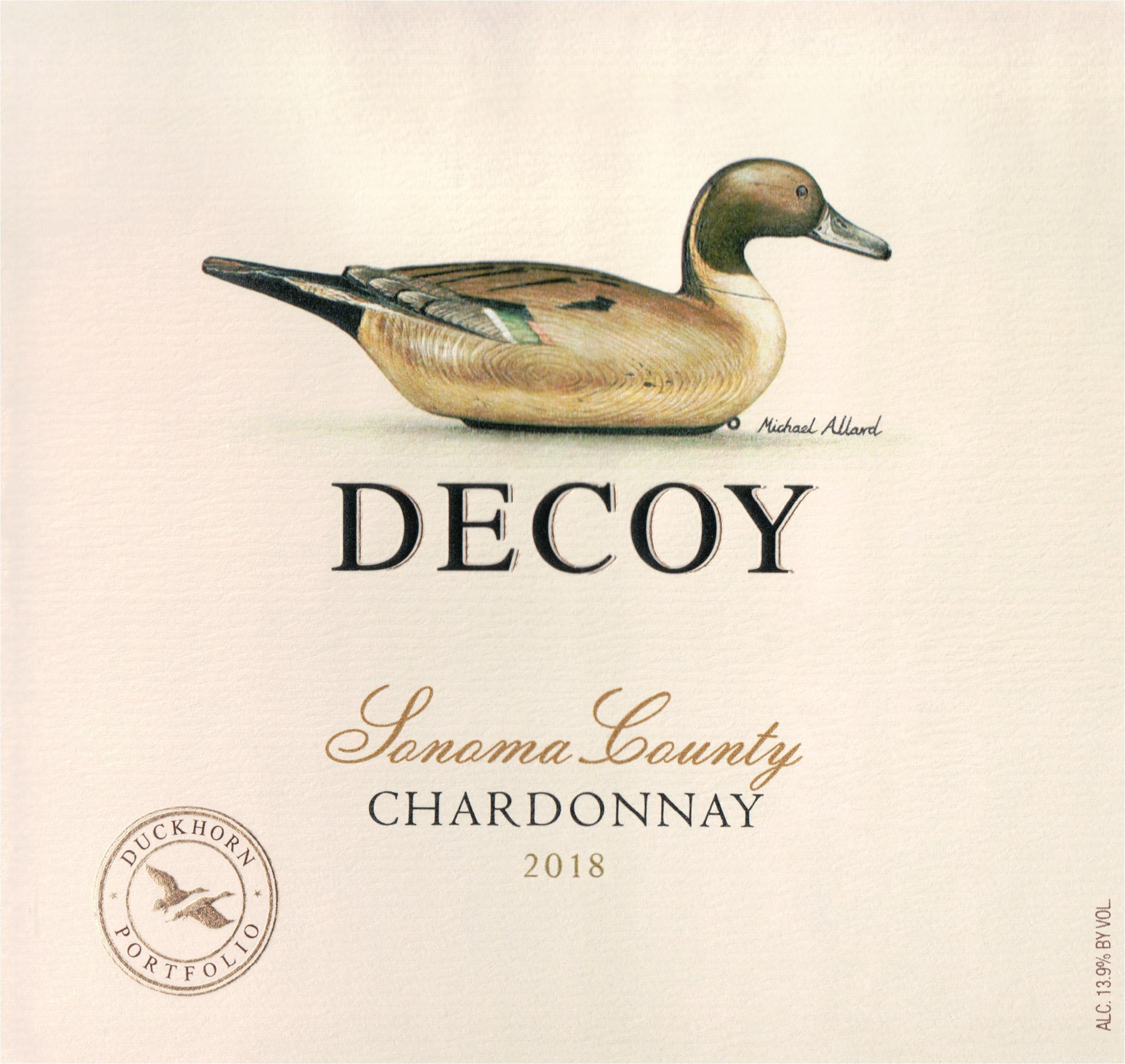 Duckhorn Decoy Chardonnay 2018