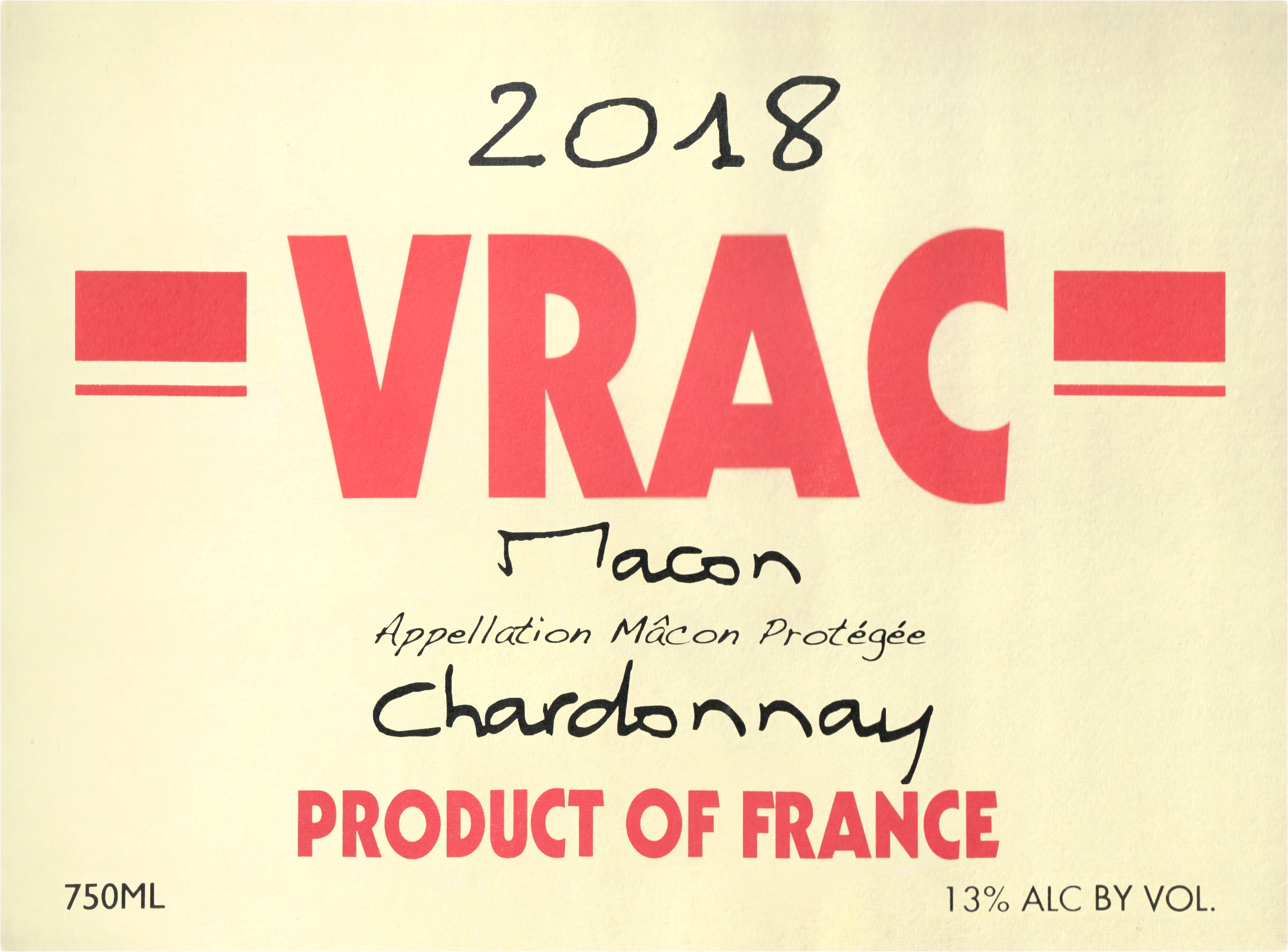 Vrac Macon 2018