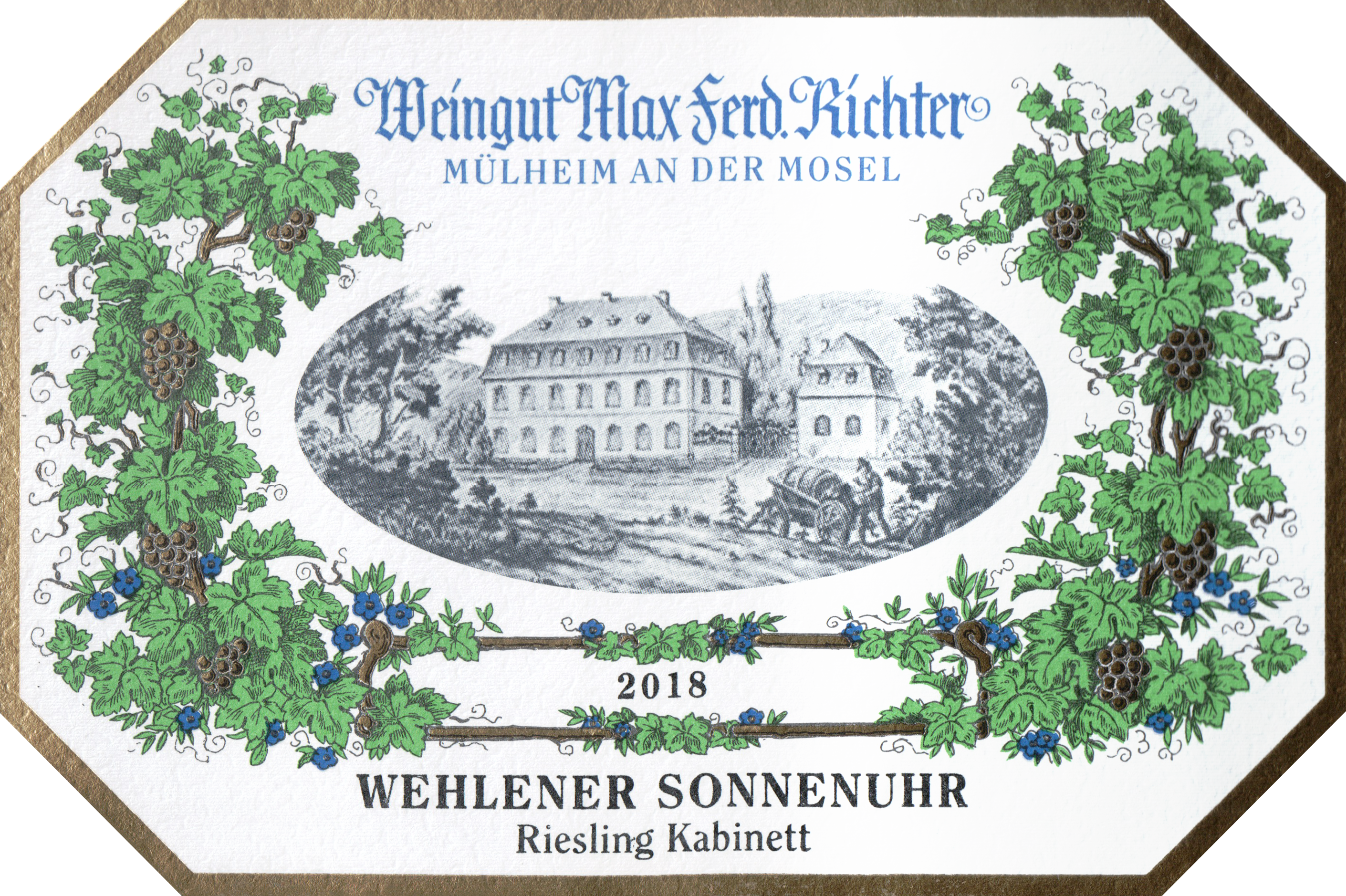 Max Ferd Richter Kabinett Wehlener Sonnenuhr Riesling 2018