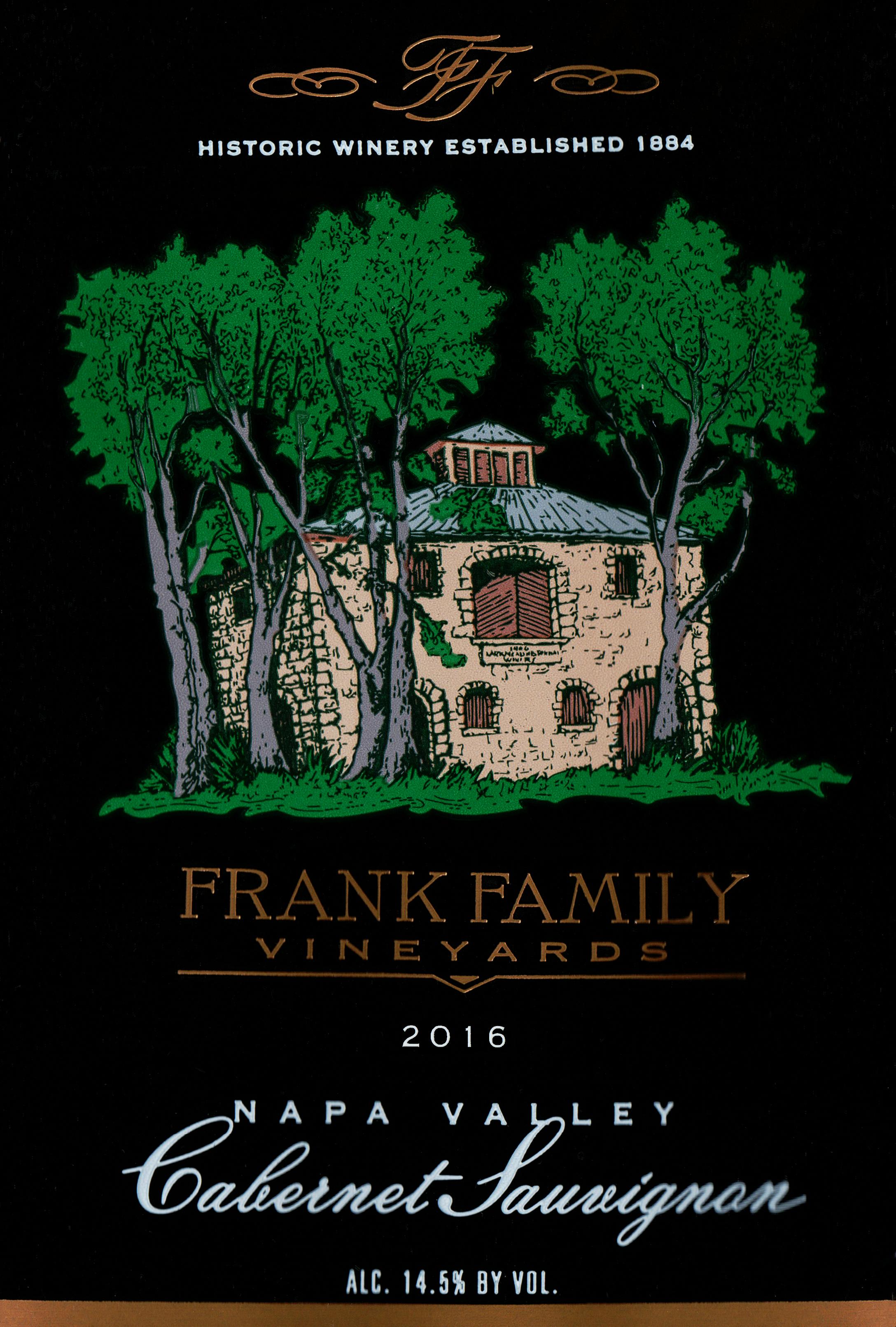 Frank Family Vineyards Cabernet Sauvignon 2016