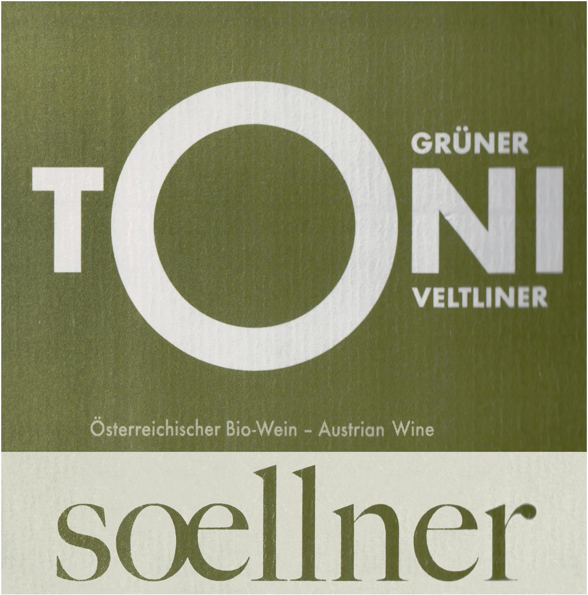 Soellner Gruner Veltliner Toni 2018