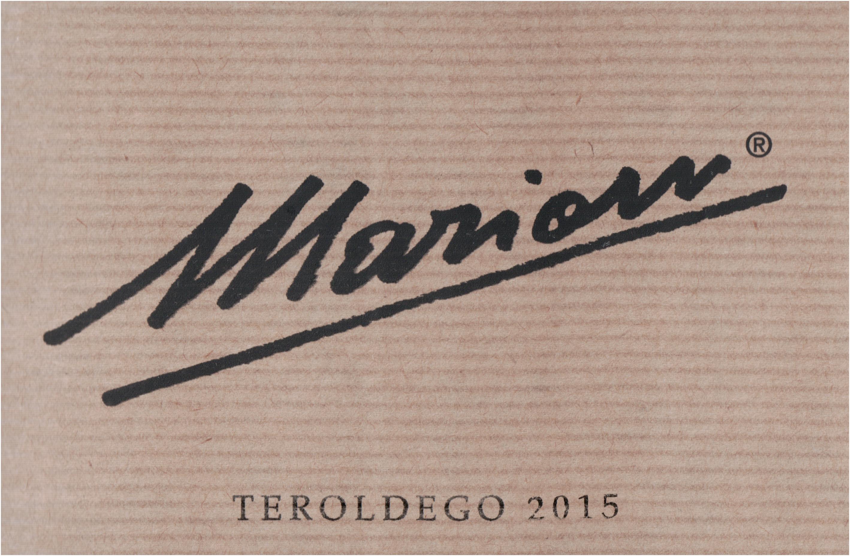 Marion Teroldego 2015