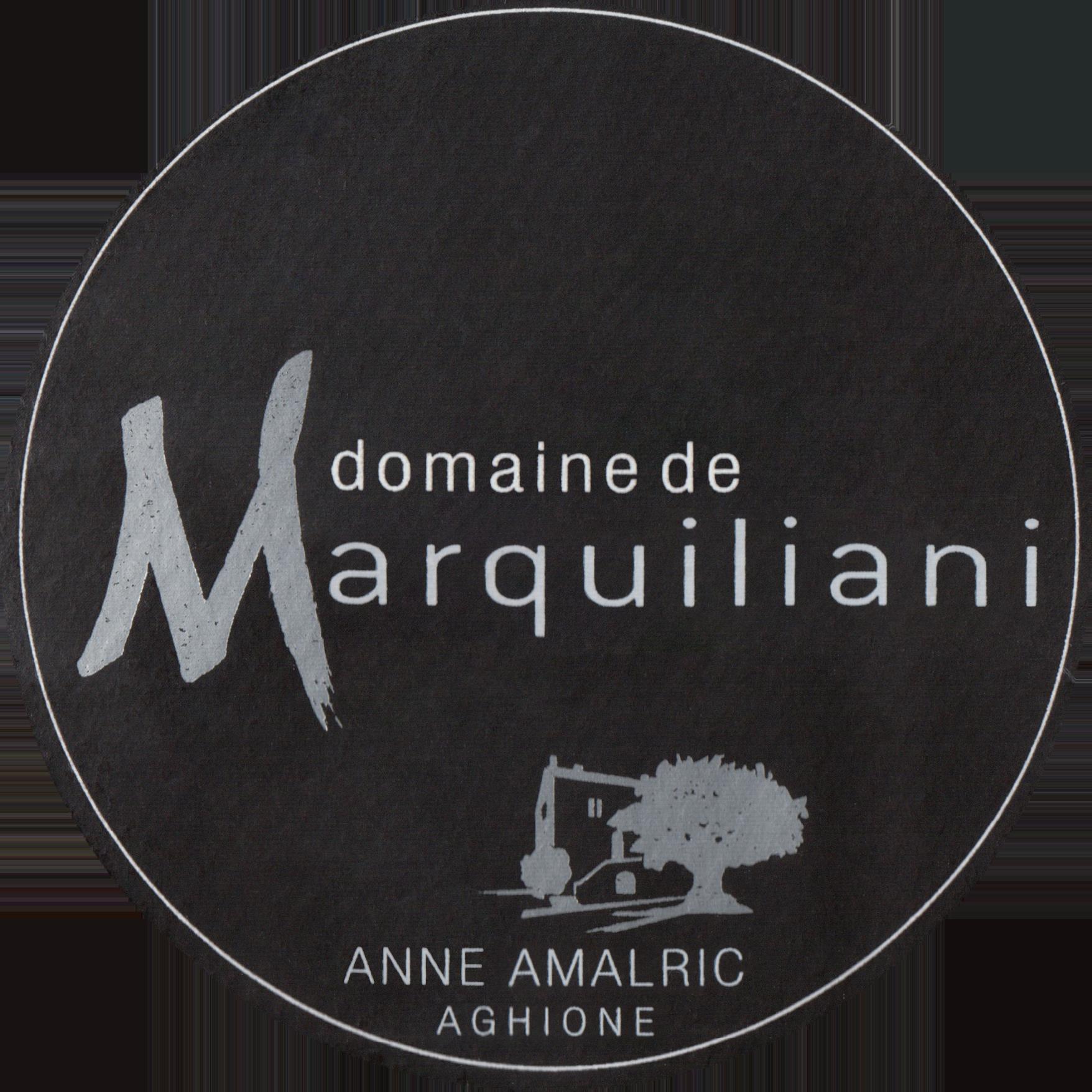 Domaine De Marquiliani Ile De Beaute Rouge 2015