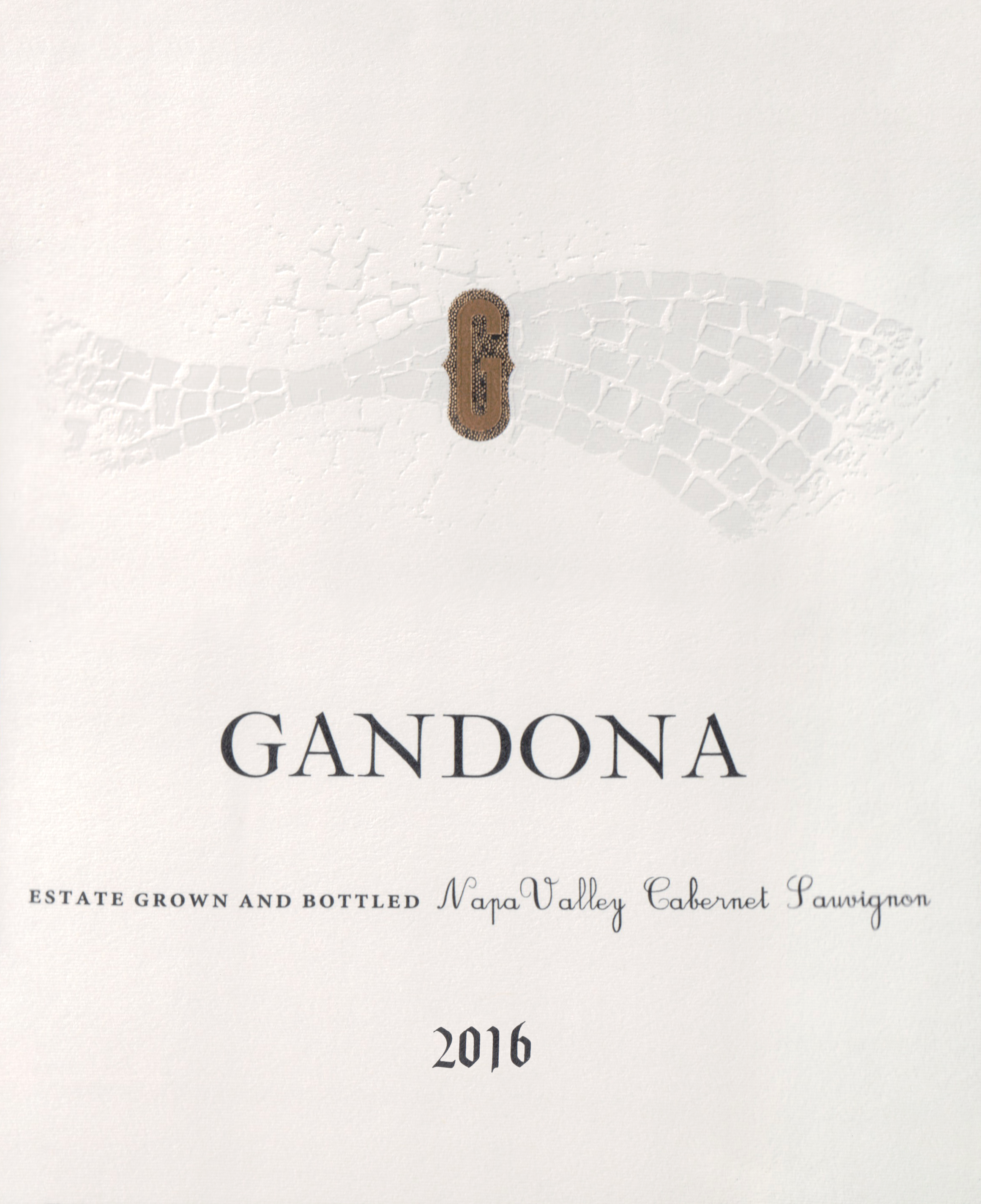 Gandona Estate Cabernet Sauvignon 2016
