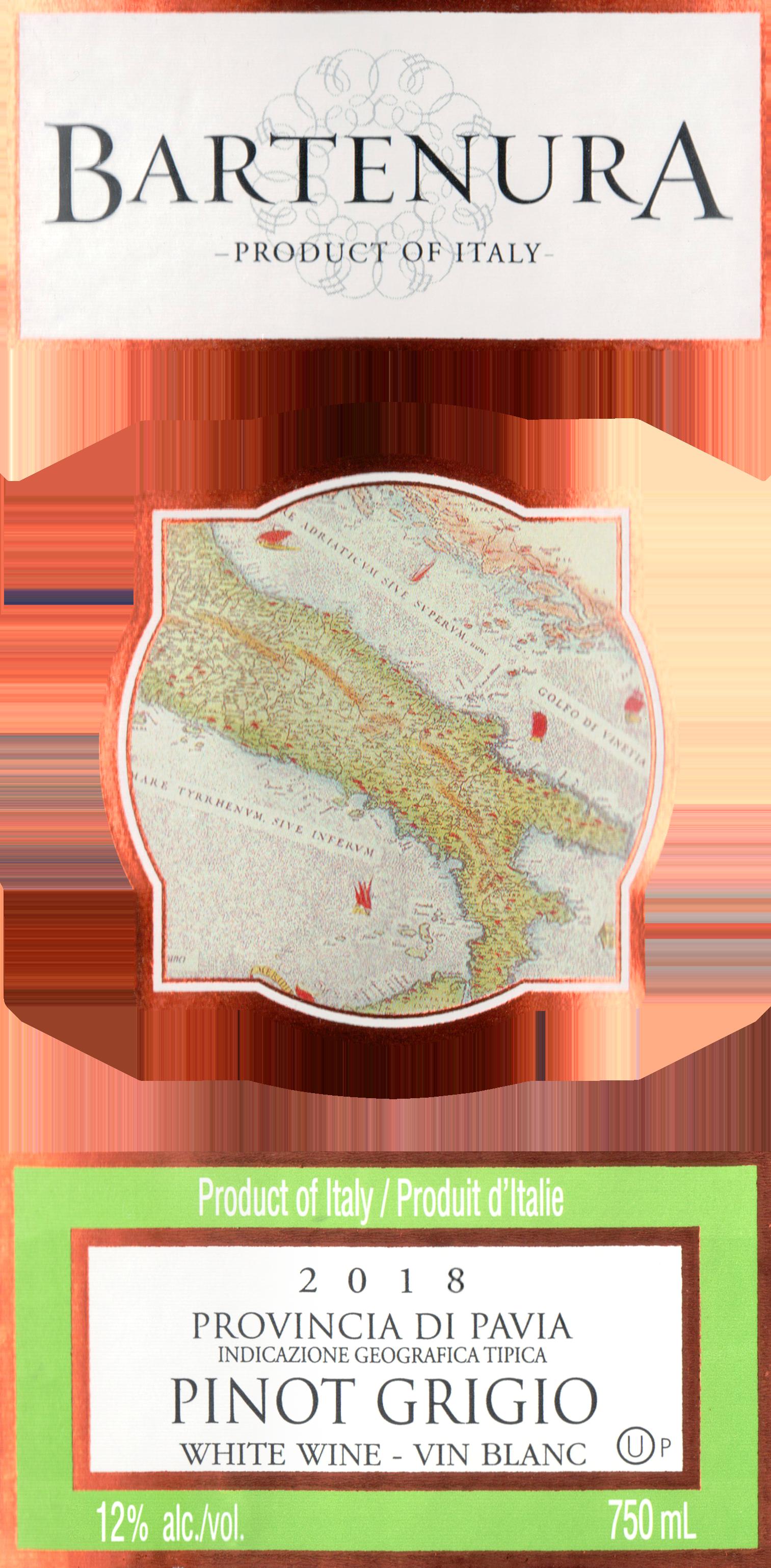 Bartenura Pinot Grigio 2018