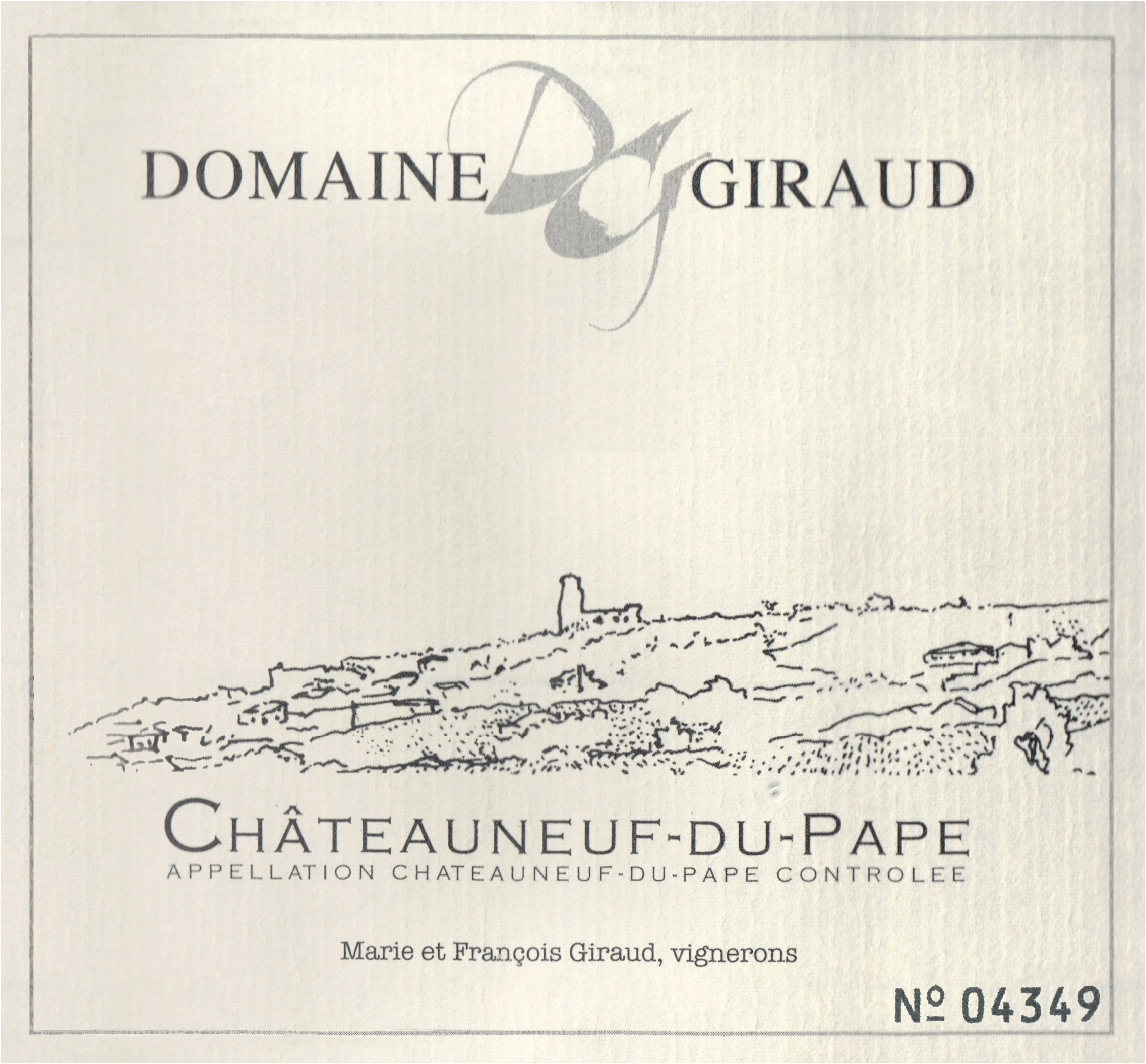 Giraud Chateauneuf Du Pape Tradition 2017