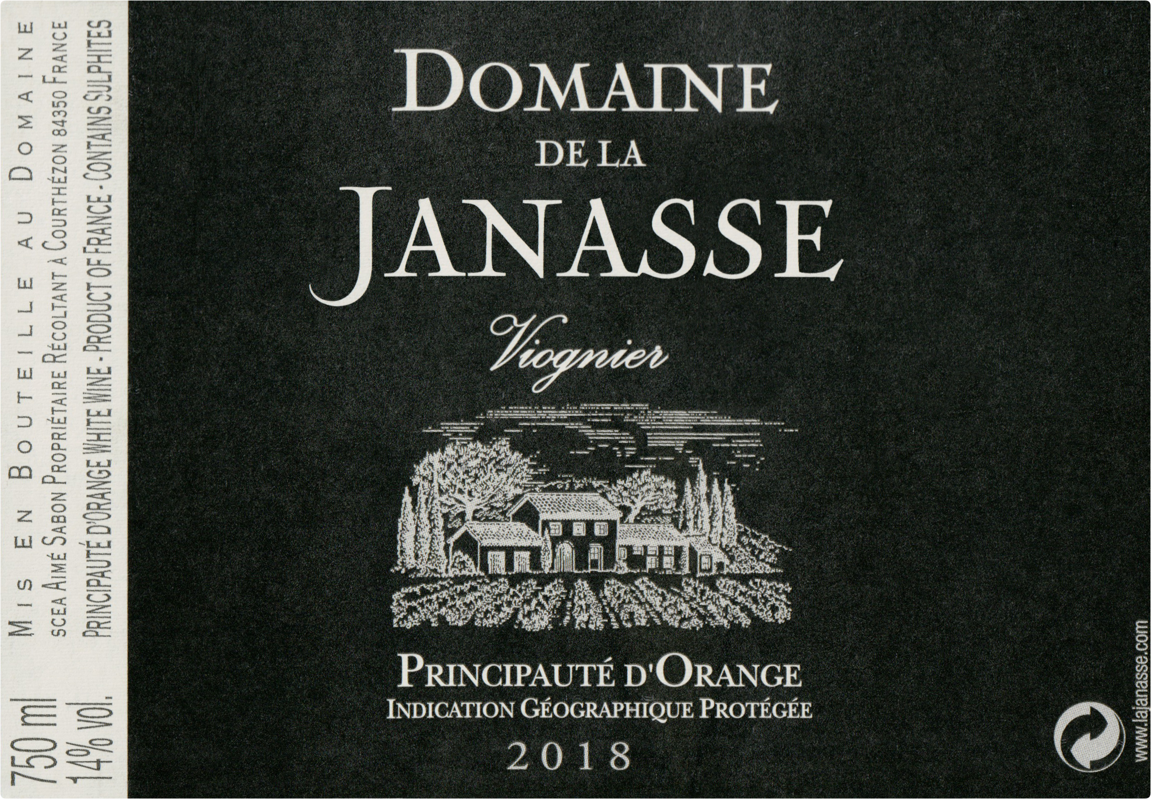 Janasse Viognier Principaute D