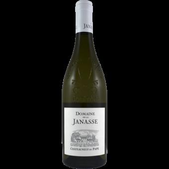 Bottle shot for 2018 Janasse Blanc Chateauneuf Du Pape