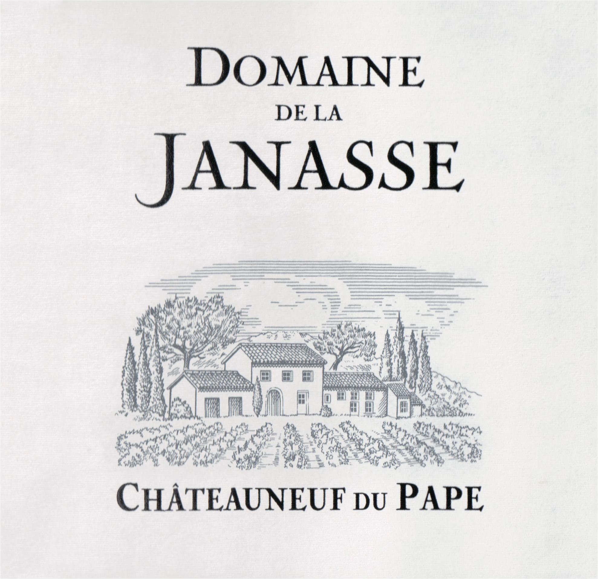 Janasse Blanc Chateauneuf Du Pape 2018