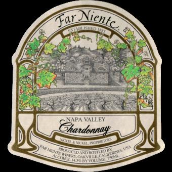 Label shot for 2018 Far Niente Chardonnay