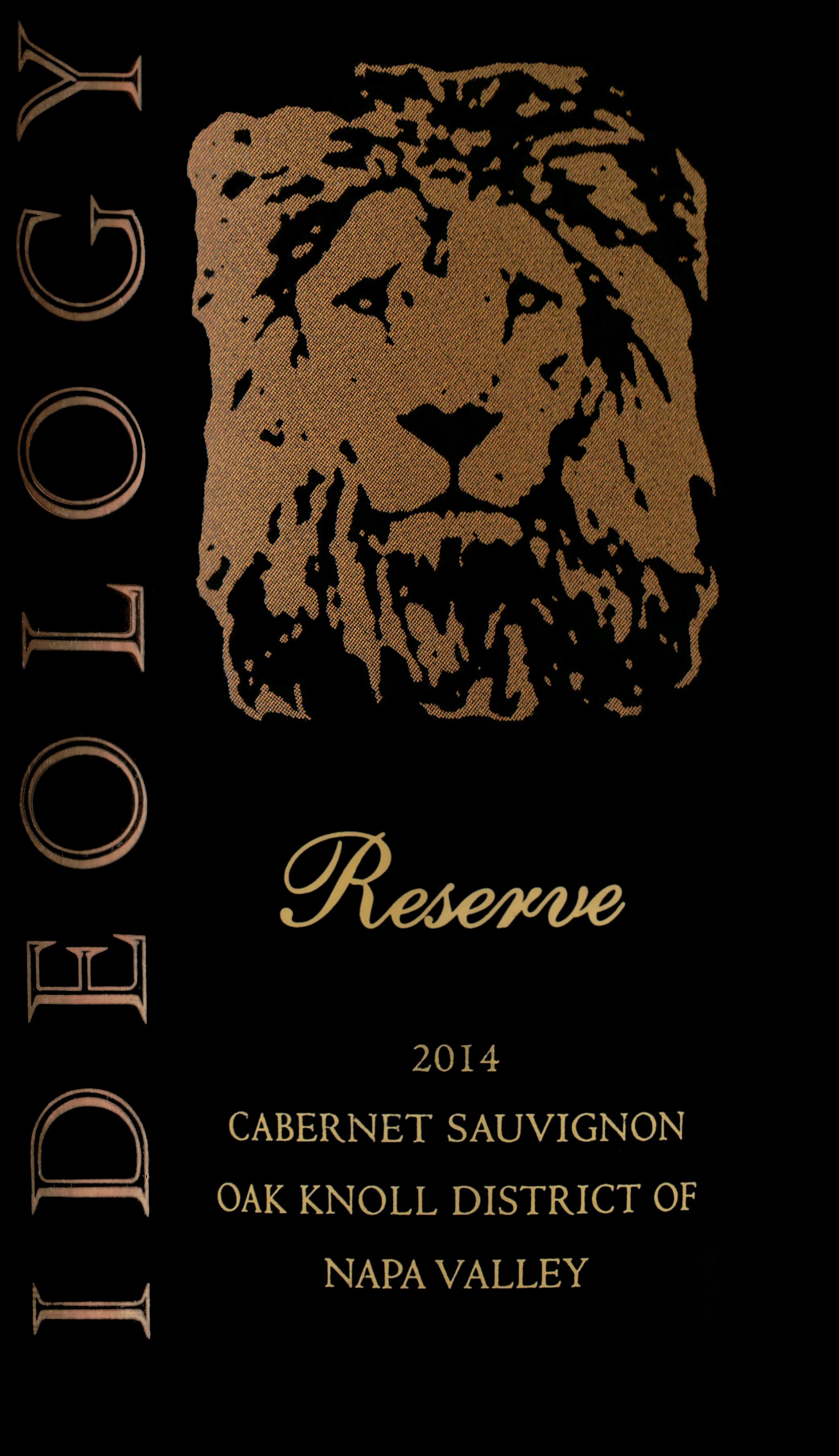 Ideology Reserve Oak Knoll Estate Cabernet Sauvignon 2014