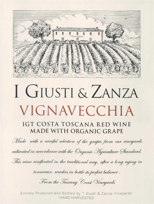 Giusti & Zanza Vigna Vecchia Toscana 2015