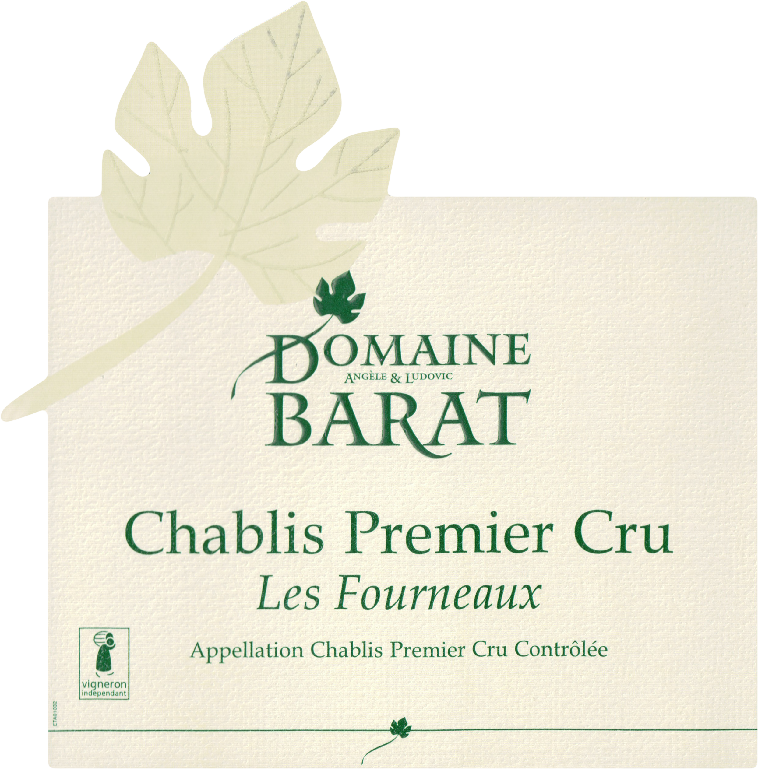 Domaine Barat Chablis 1er Cru Les Fourneaux 2017