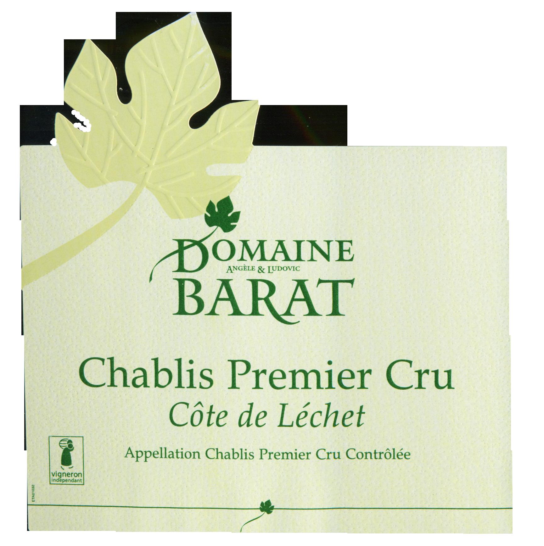 Domaine Barat Chablis Cote De Lechet 2017