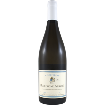 Bottle shot for 2016 Henri Clerc Bourgogne Aligote