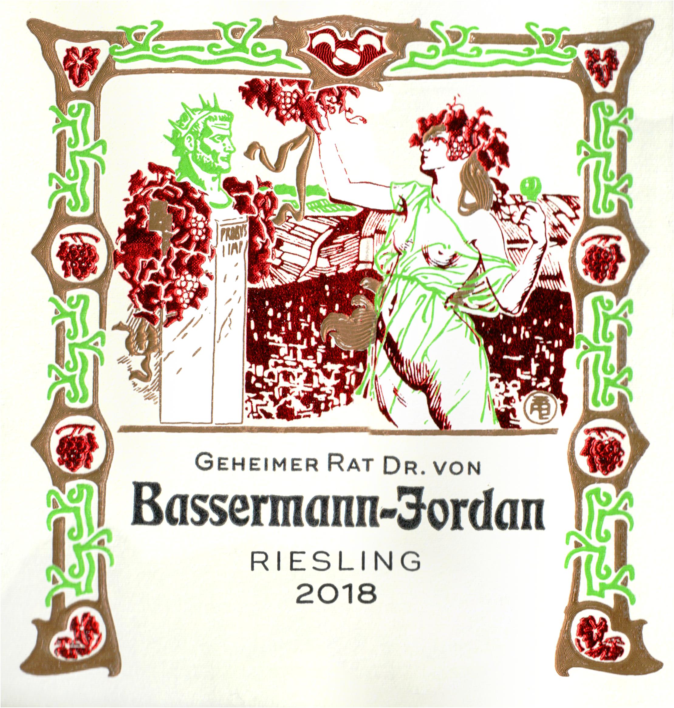 Basserman Jordan Riesling 2018