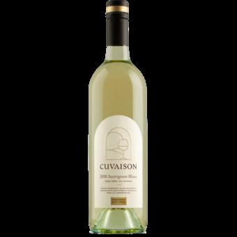 Bottle shot for 2018 Cuvaison Estate Sauvignon Blanc
