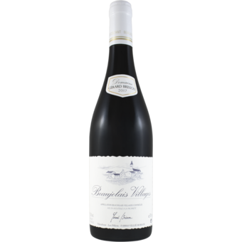 Bottle shot for 2017 Gerard Brisson Beaujolais Villages