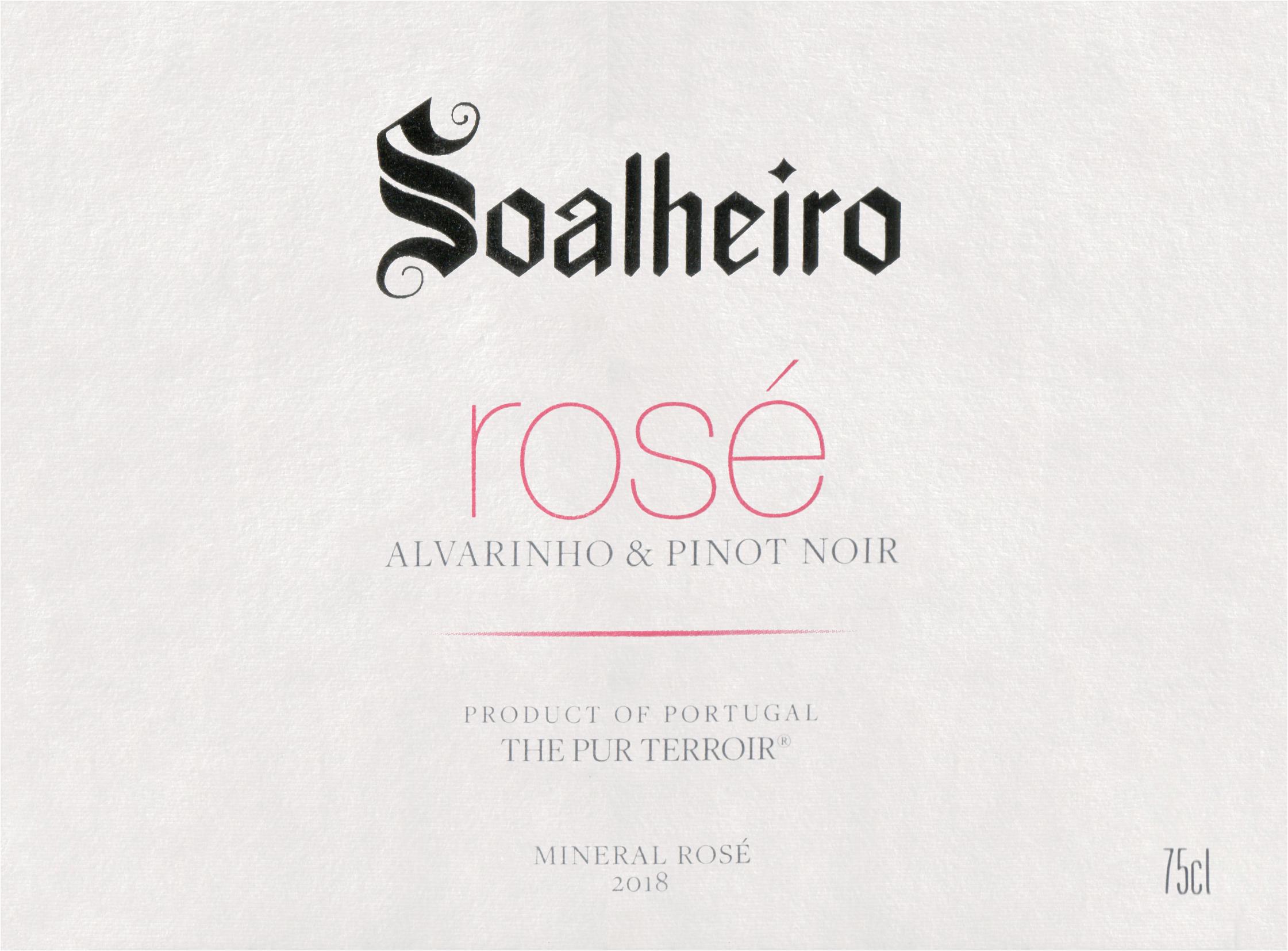 Quinta De Soalheiro Vinho Verde Rose 2018