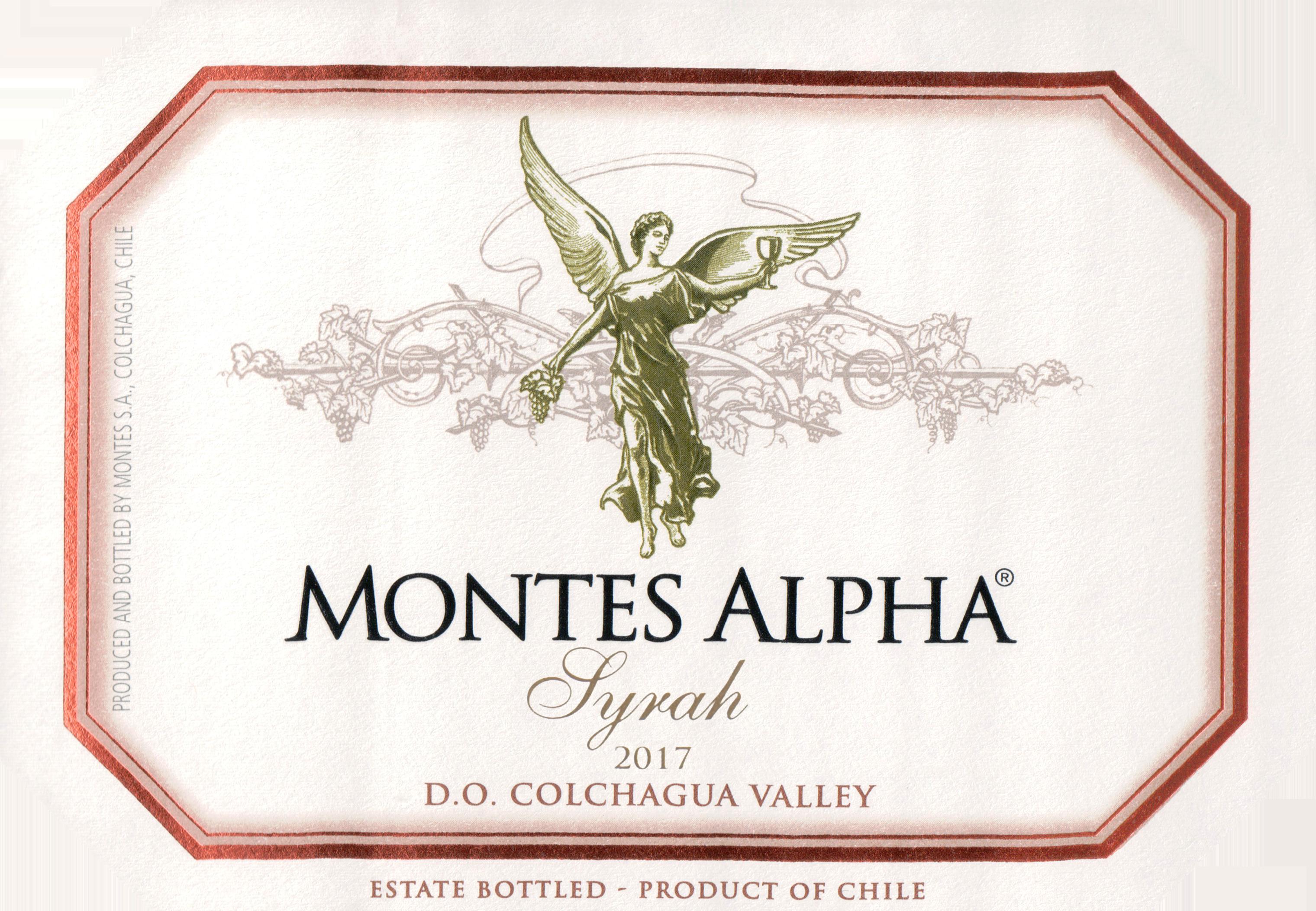 Montes Alpha Syrah 2017