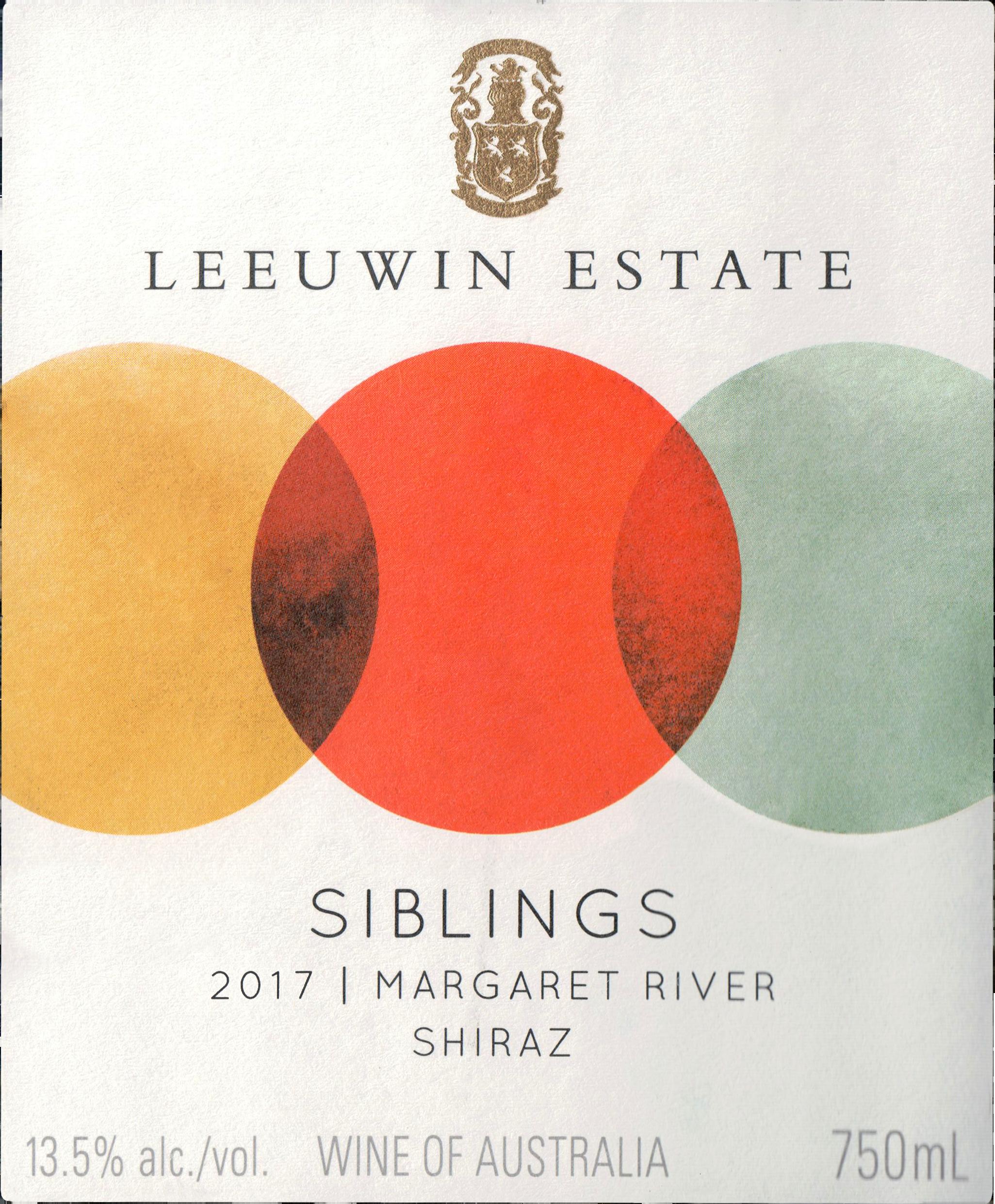 Leeuwin Estate Siblings Shiraz 2017