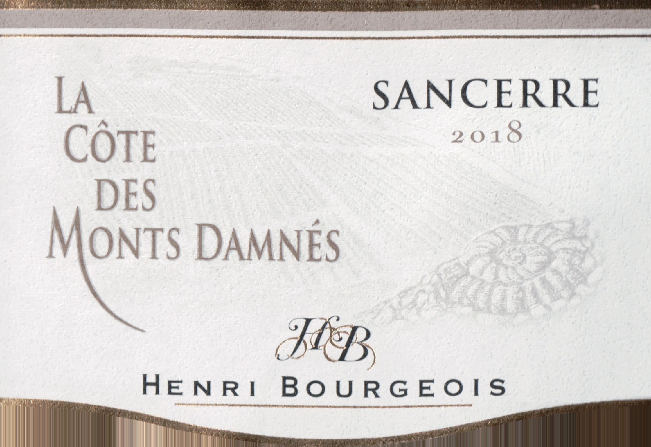Henri Bourgeois La Cote Des Monts Damnes Sancerre 2018