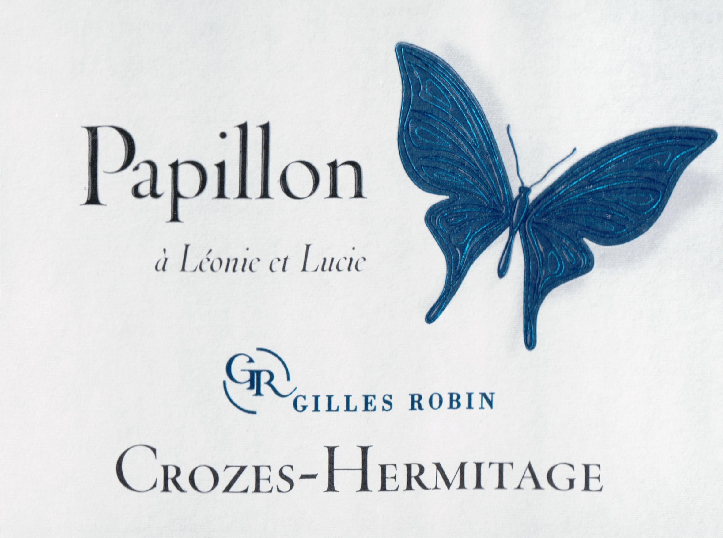 Gilles Robin Crozes Hermitage Papillon 2018