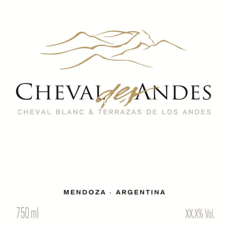 2016 Chat Cheval Des Andesblend From Argentina