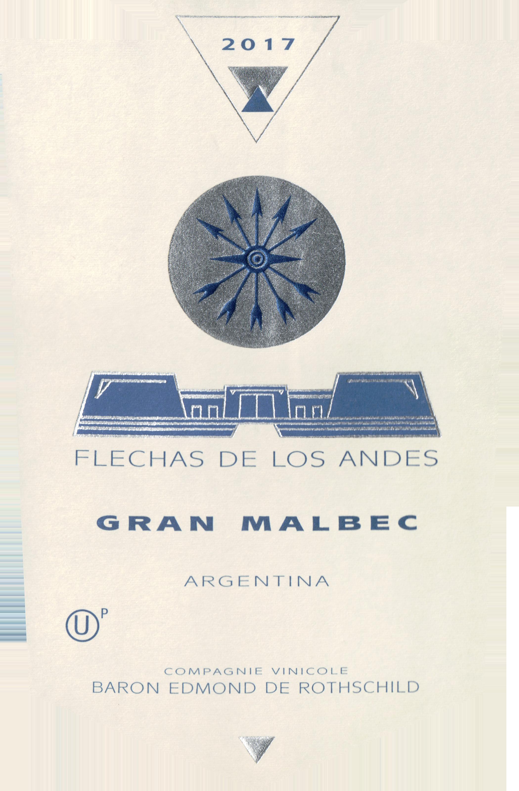 Flechas De Los Andes Gran Malbec (U)P 2017