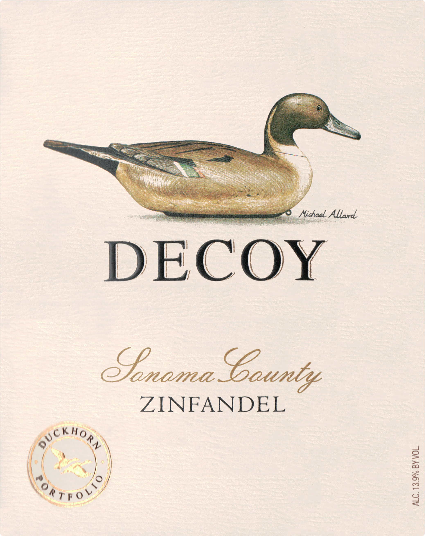 Duckhorn Decoy Zinfandel 2017