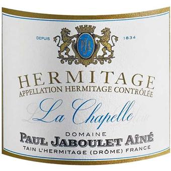 Label shot for 2017 Paul Jaboulet Hermitage La Chapelle