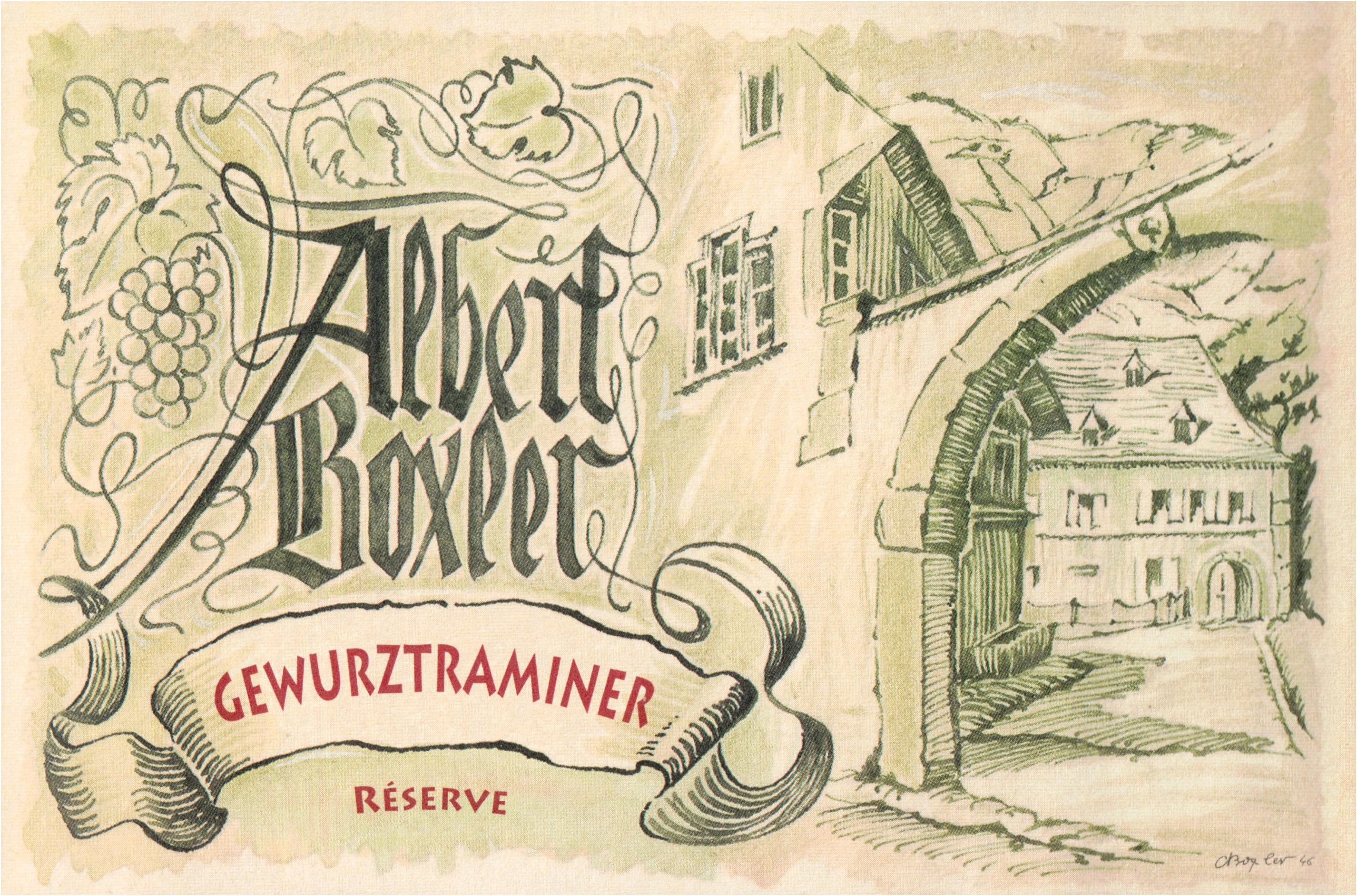 Albert Boxler Gewurztraminer Reserve 2014