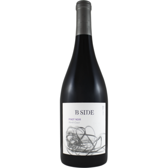 Bottle shot for 2017 B Side Pinot Noir