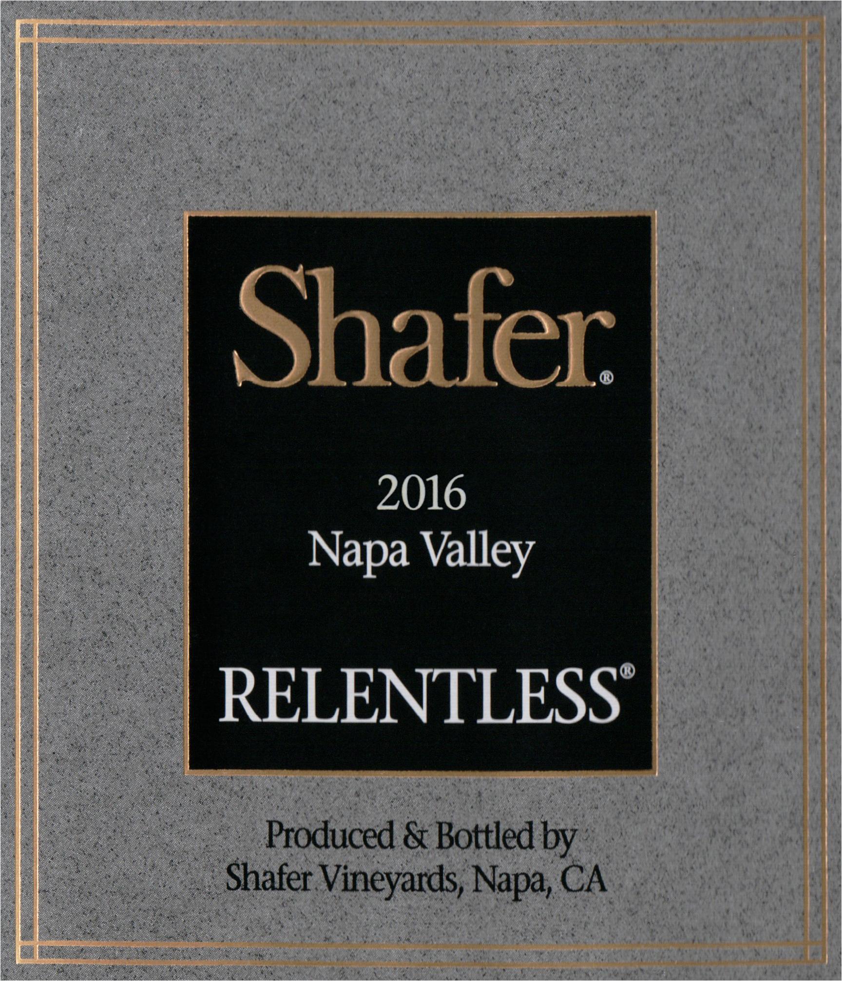 Shafer Relentless 2016