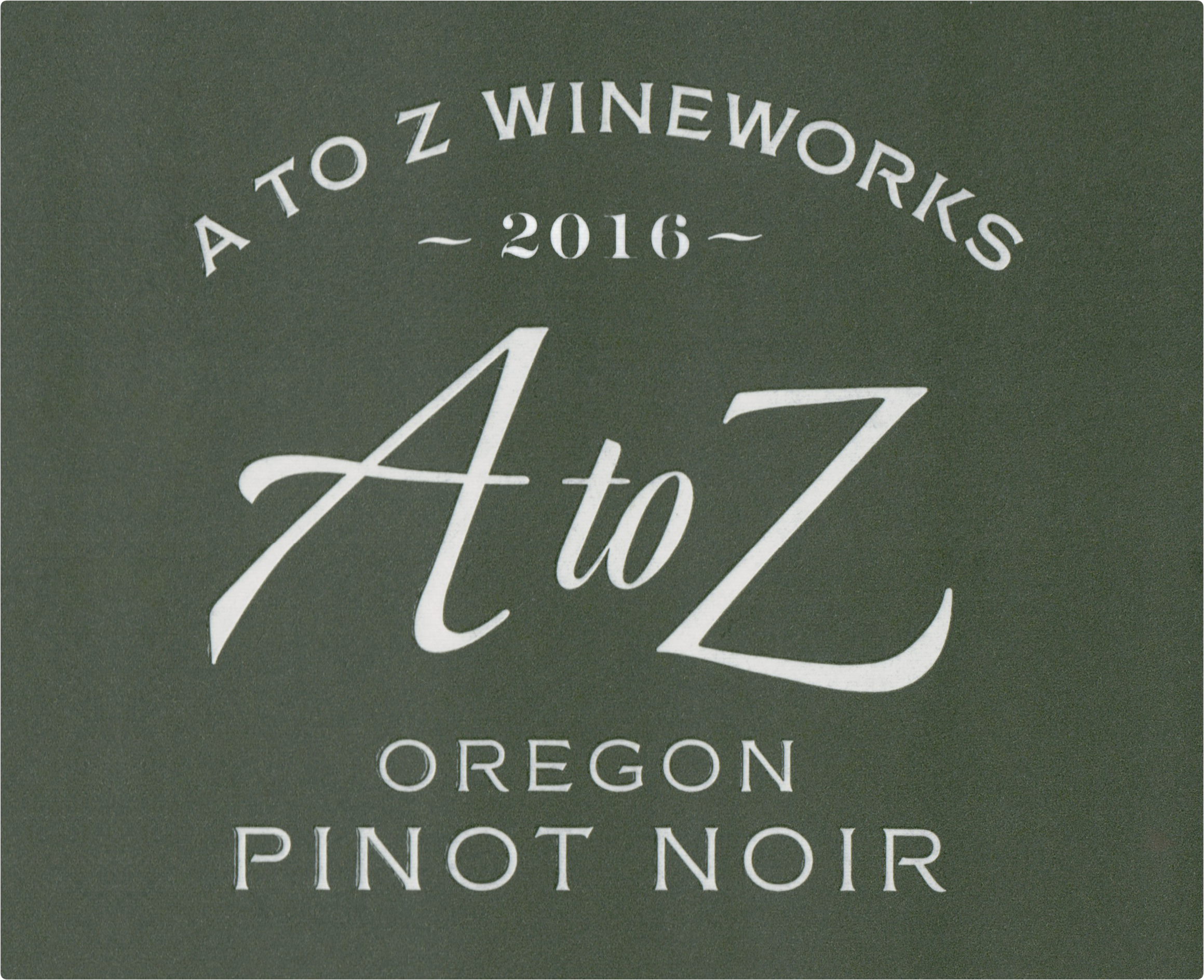 A To Z Wineworks Pinot Noir 2016