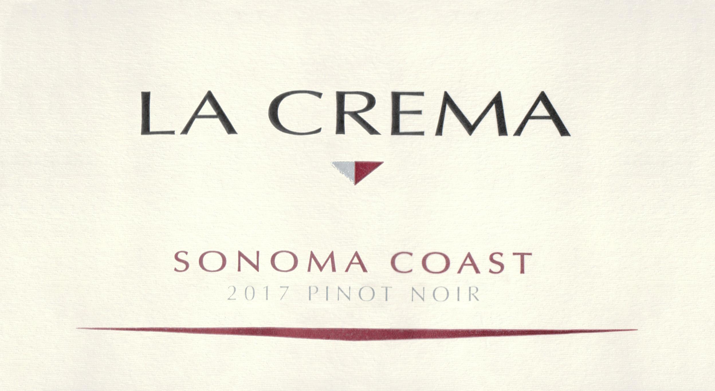 La Crema Pinot Noir 2017