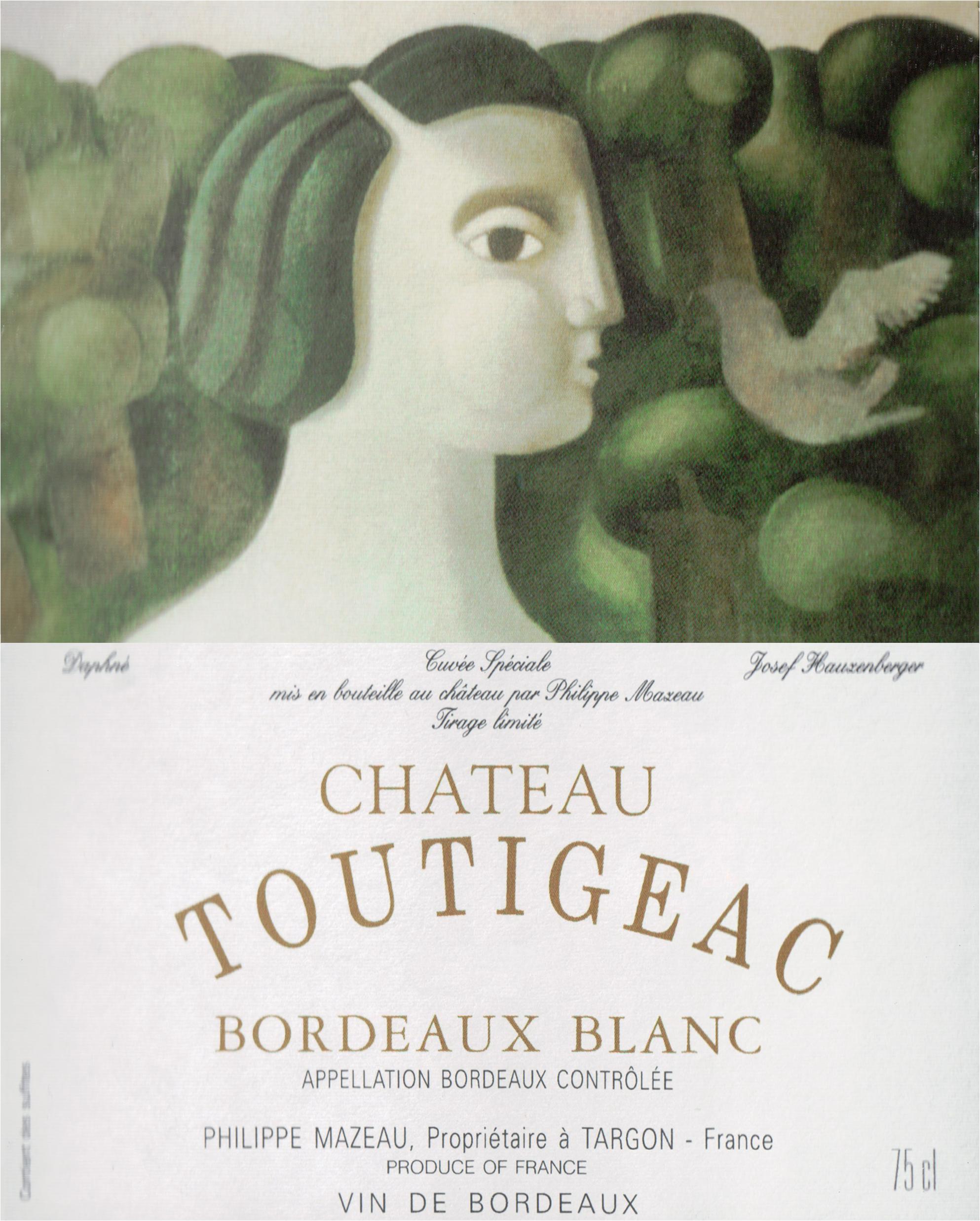 Chateau Toutigeac Bordeaux Blanc 2018