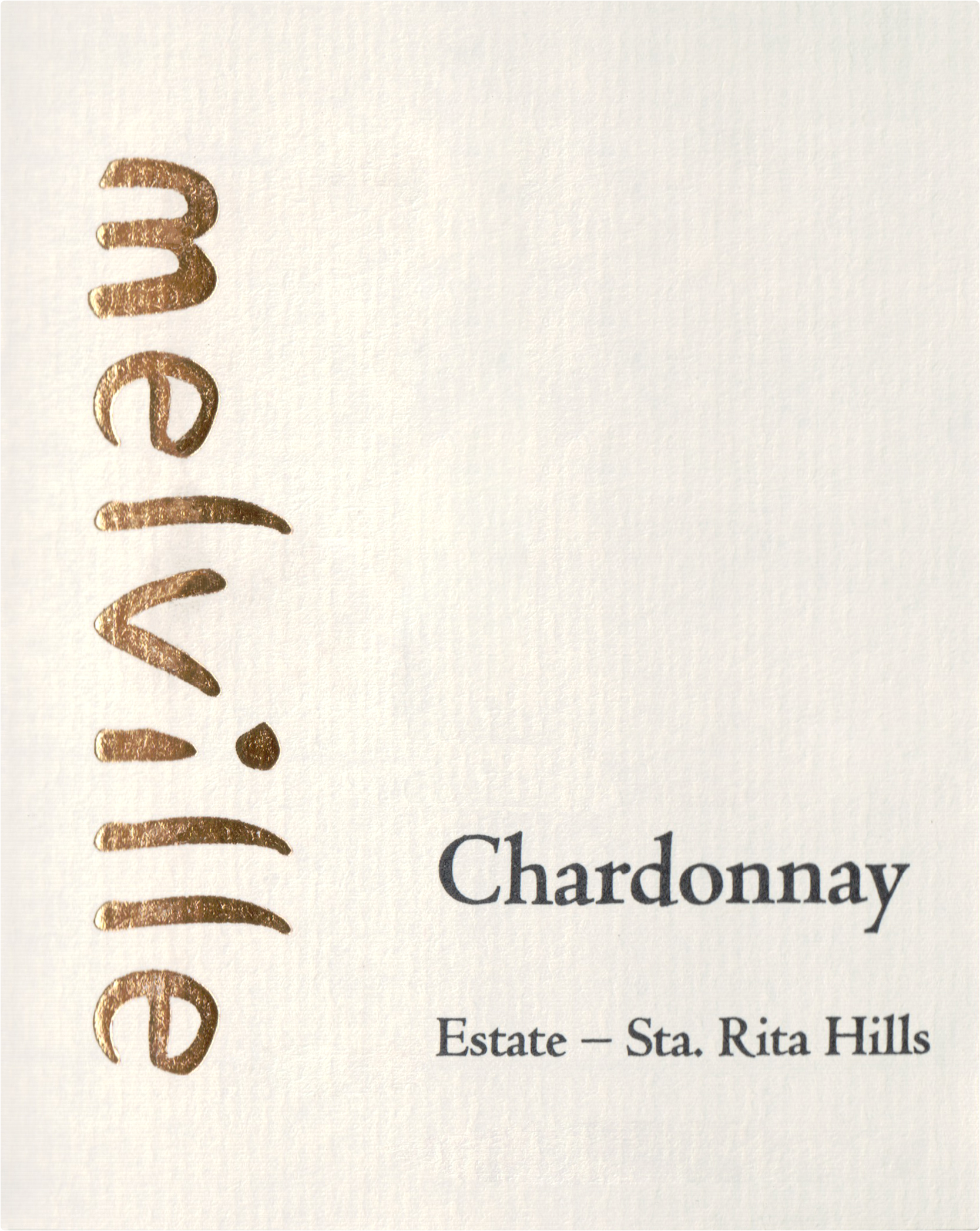 Melville Estate Chardonnay Santa Rita Hills 2016
