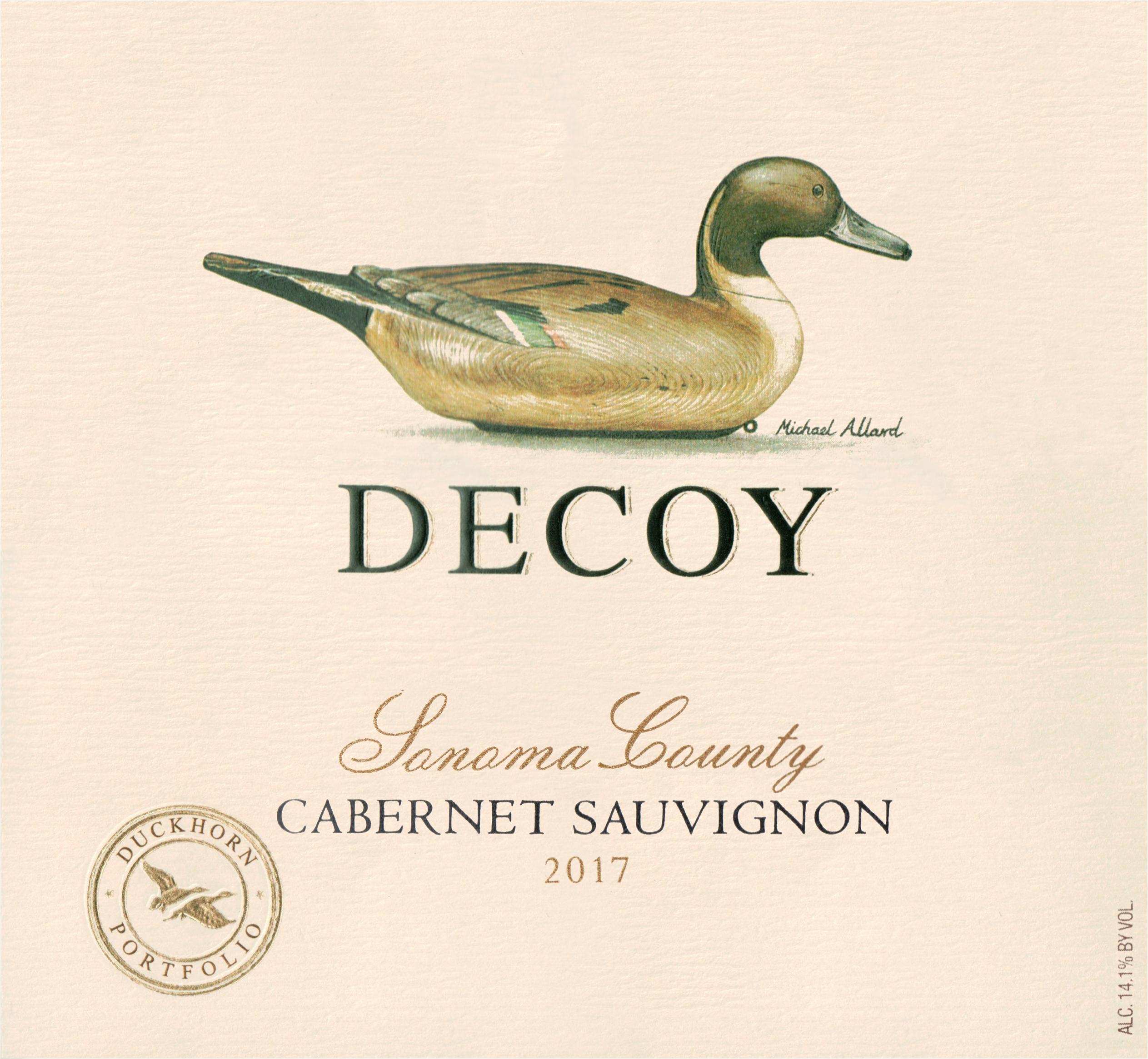 Duckhorn Decoy Cabernet 2017