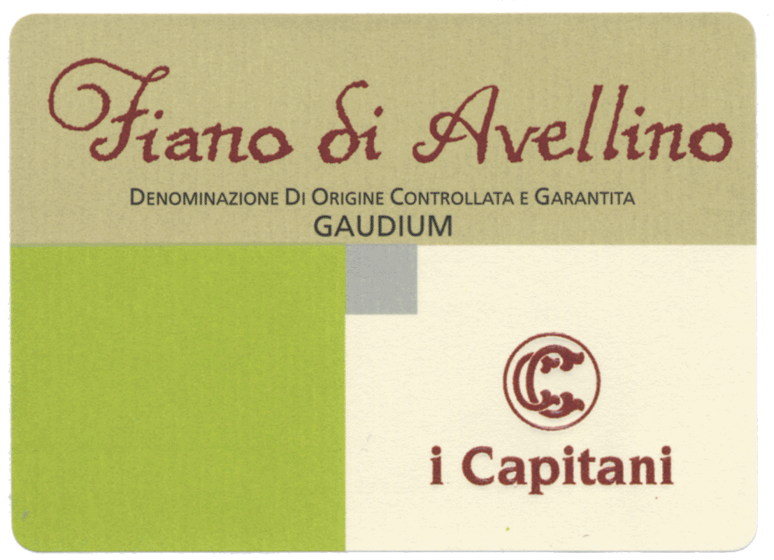 I Capitani Fiano Di Avellino 2018