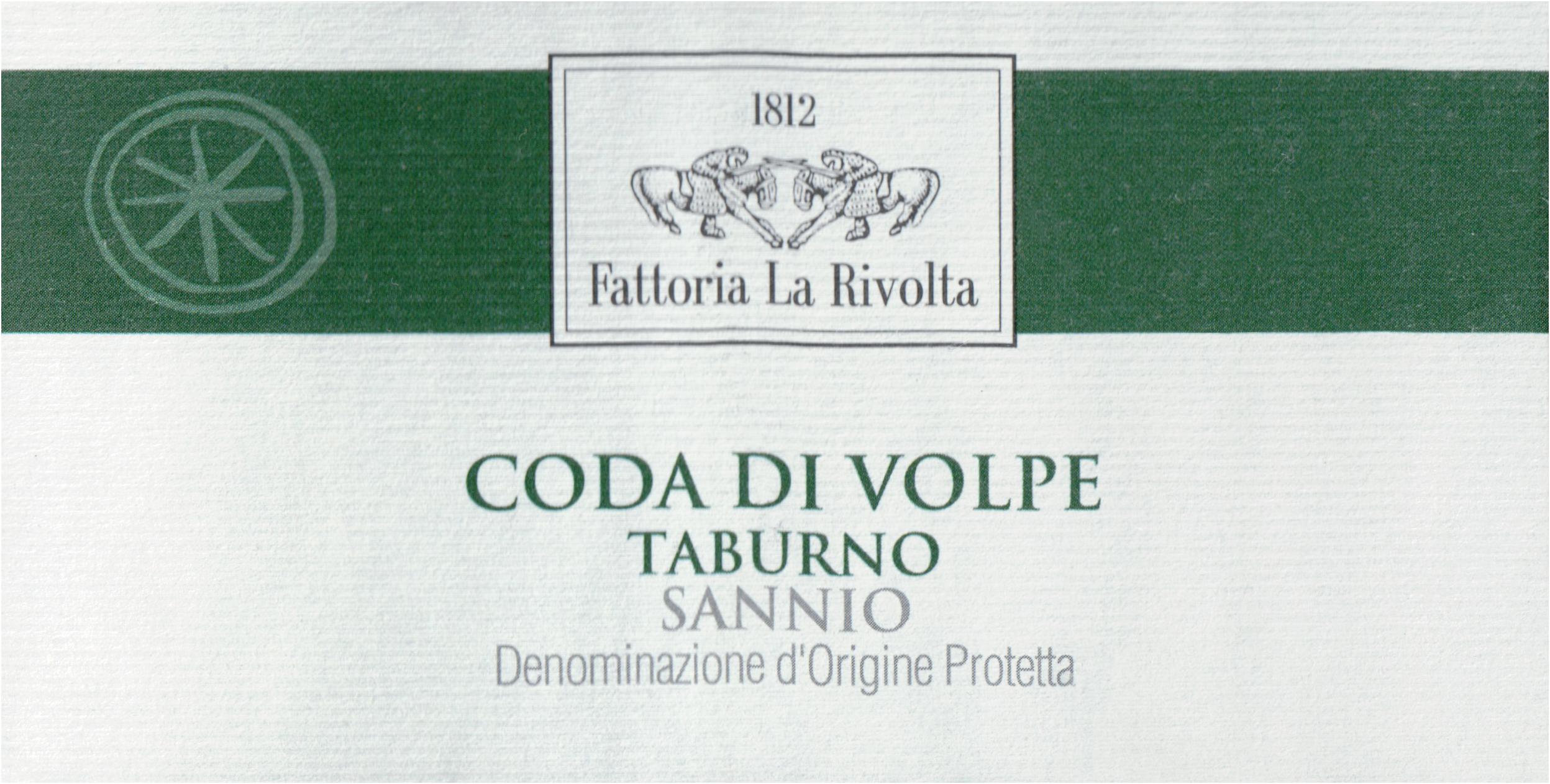 La Rivolta Coda Di Volpe Campania 2018