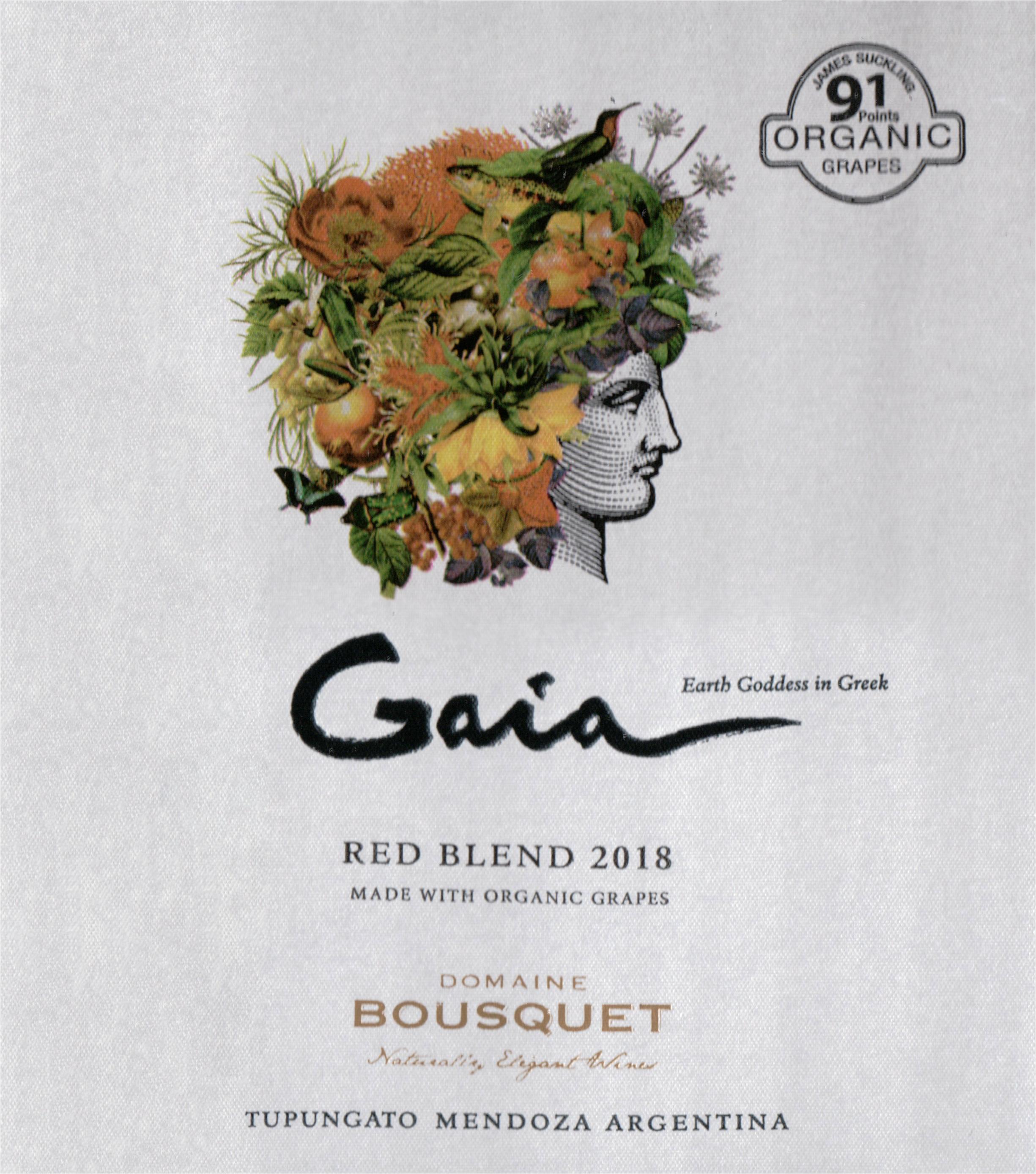 Domaine Bousquet Gaia Red Blend 2018