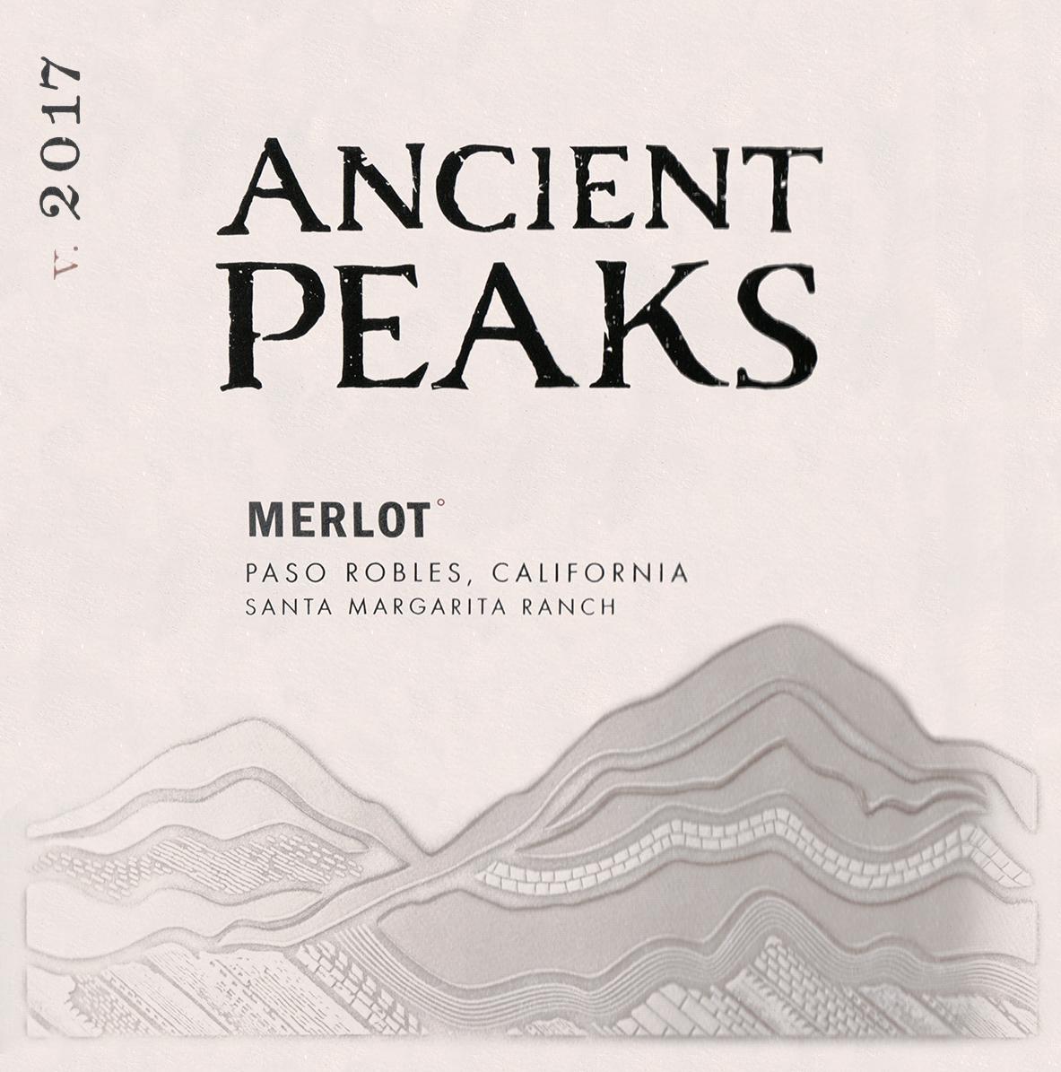 Ancient Peaks Merlot 2017